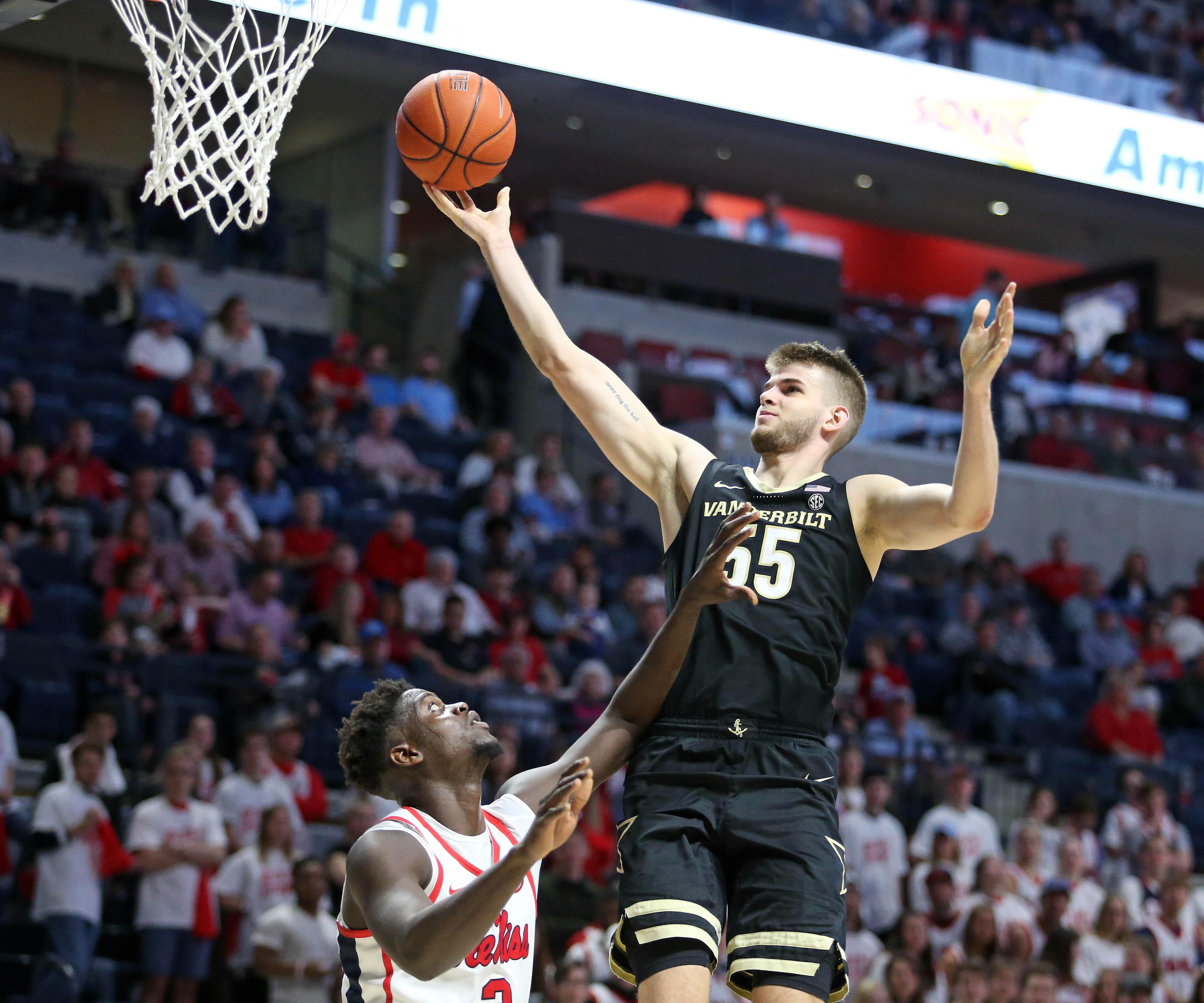 NCAA Basketball: Vanderbilt at Mississippi