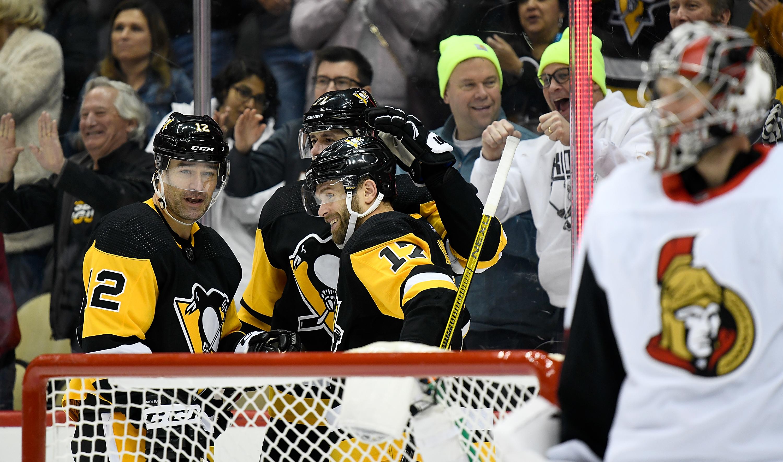 NHL: MAR 03 Senators at Penguins
