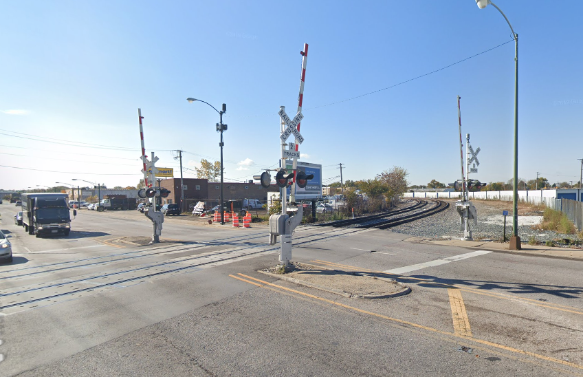 A train and two vehicles were involved in a crash March 4, 2020, near Archer and Central avenues.