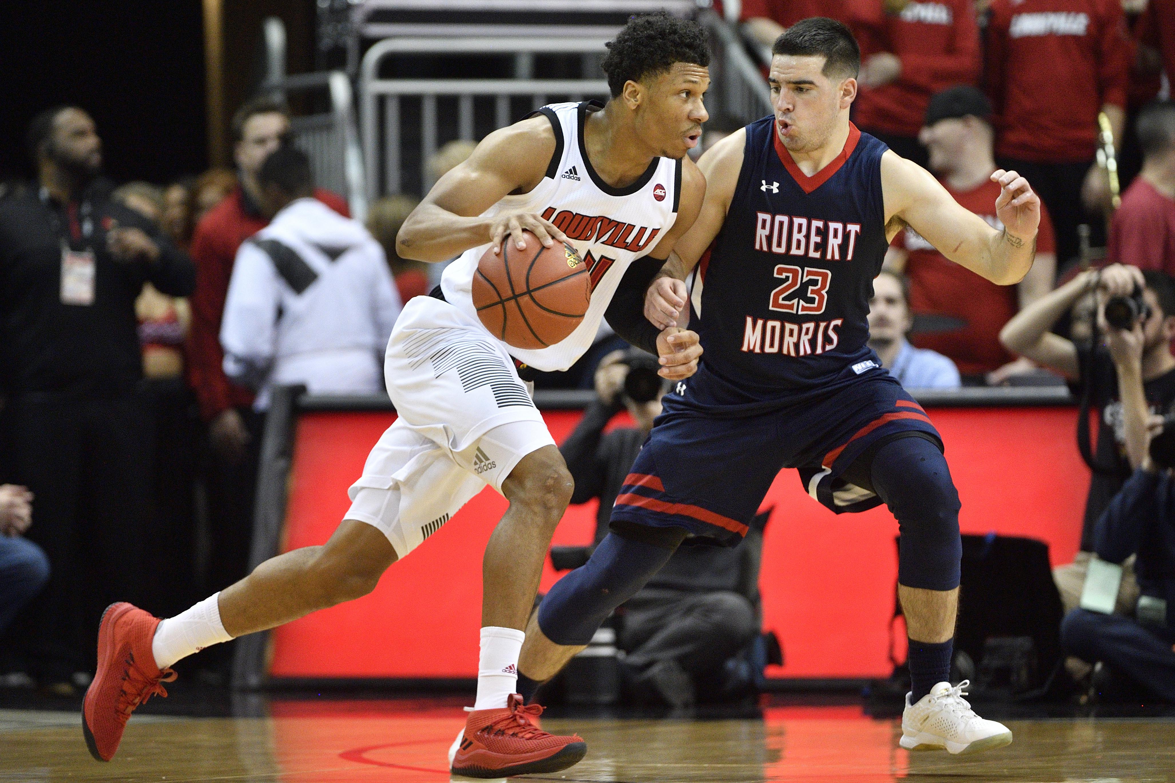 NCAA Basketball: Robert Morris at Louisville