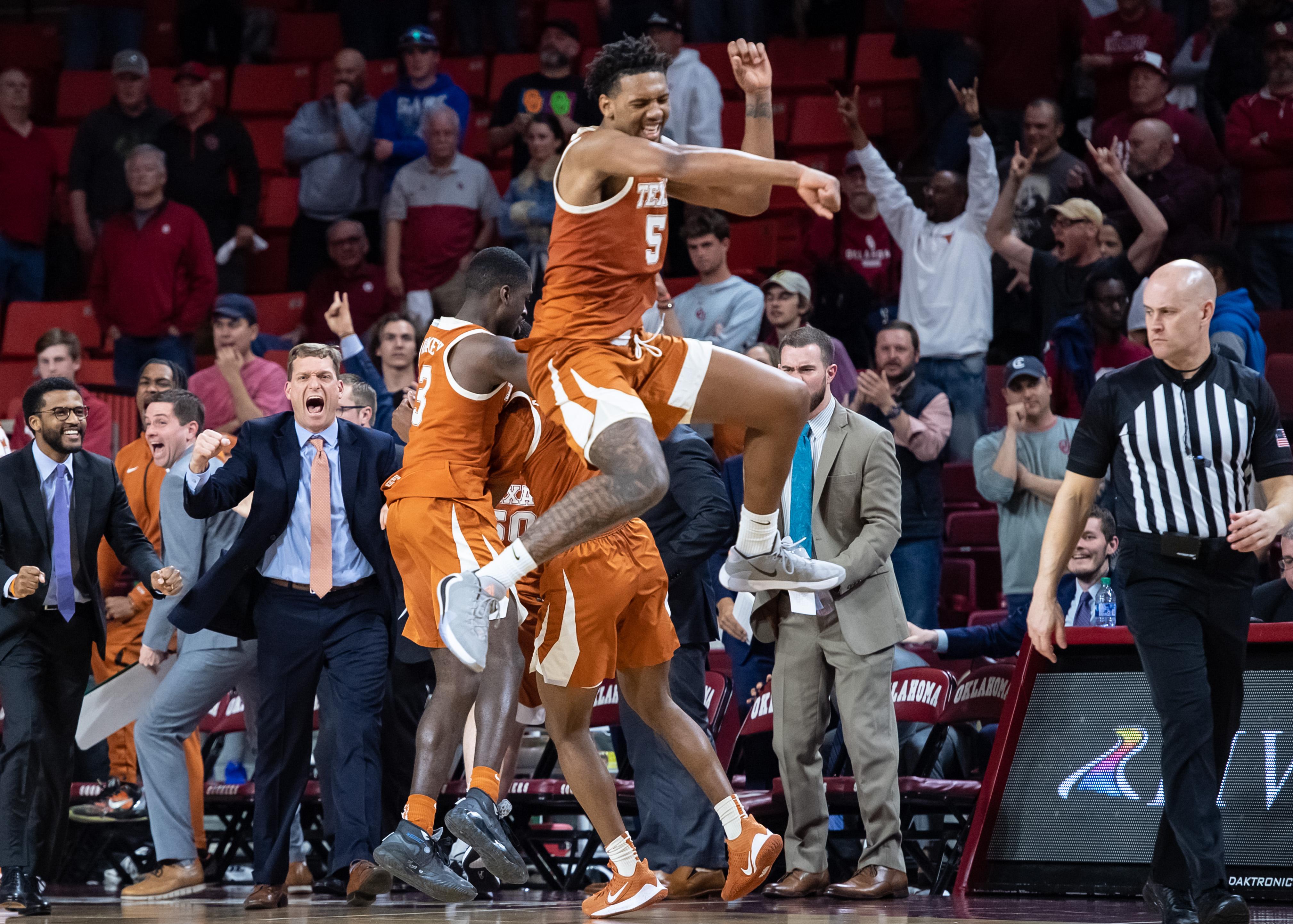 NCAA Basketball: Texas at Oklahoma