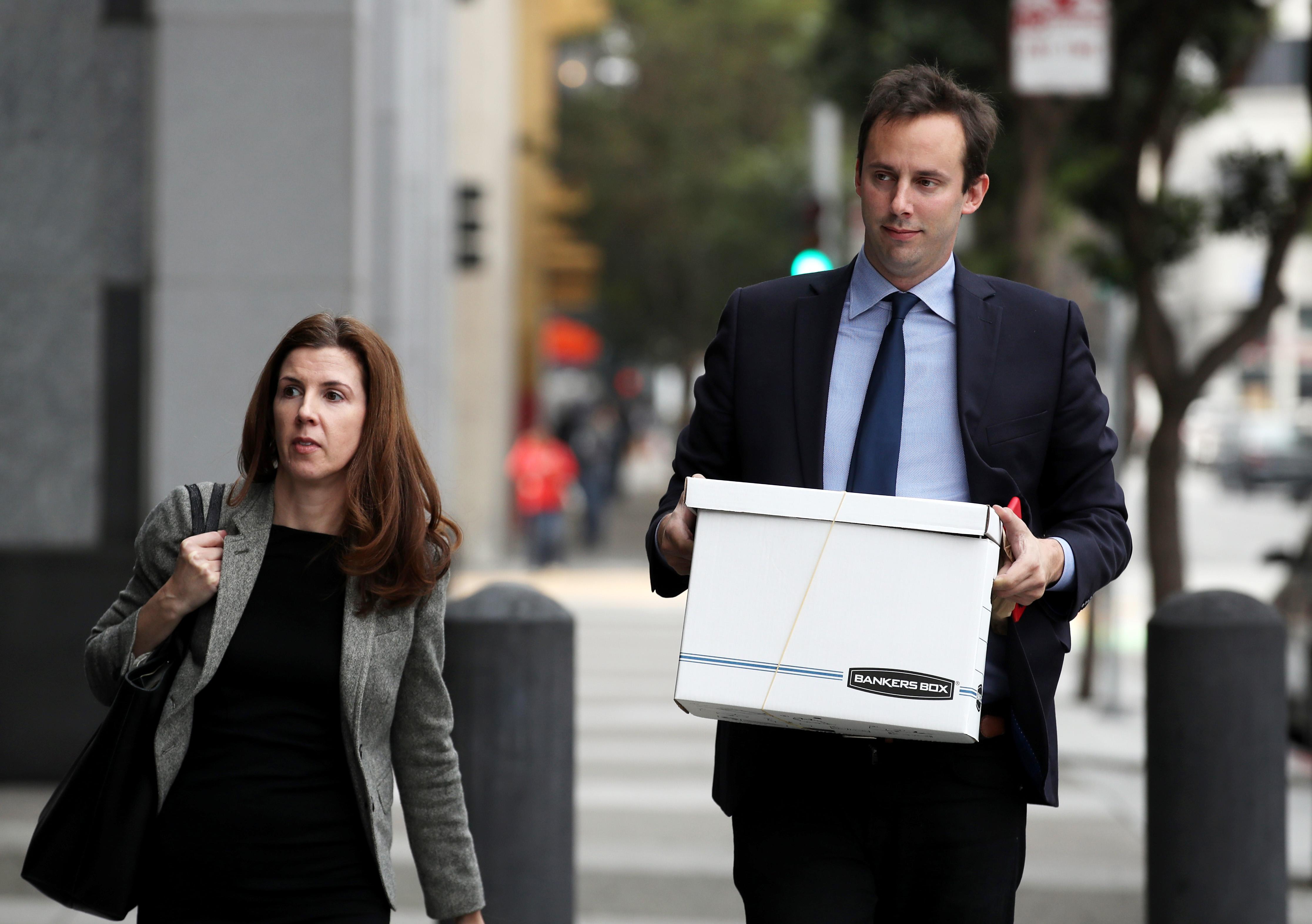 前尤伯杯而谷歌工程师安东尼Levandowski返回到法院