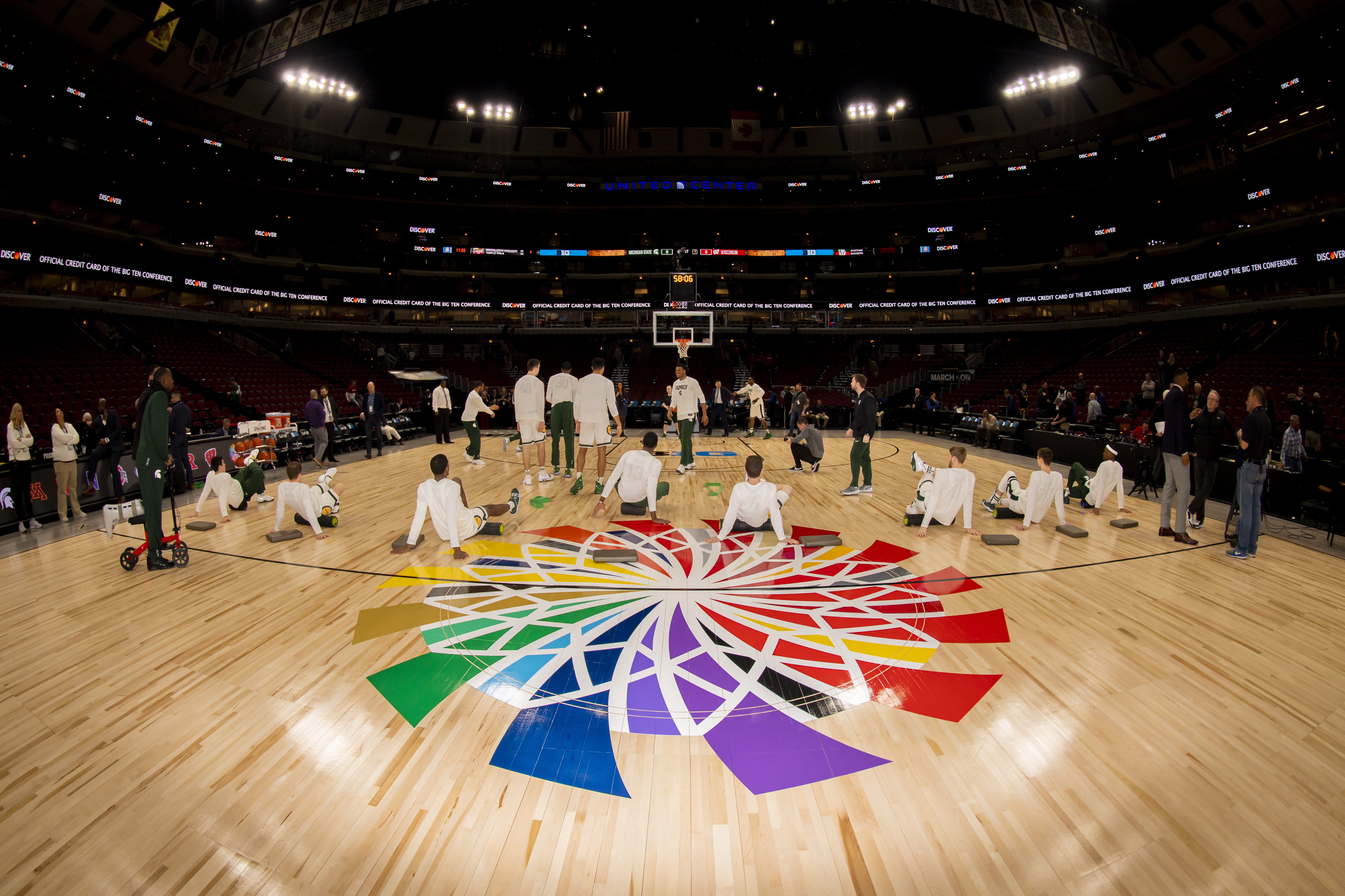 COLLEGE BASKETBALL: MAR 16 Big Ten Conference Tournament - Michigan State v Wisconsin