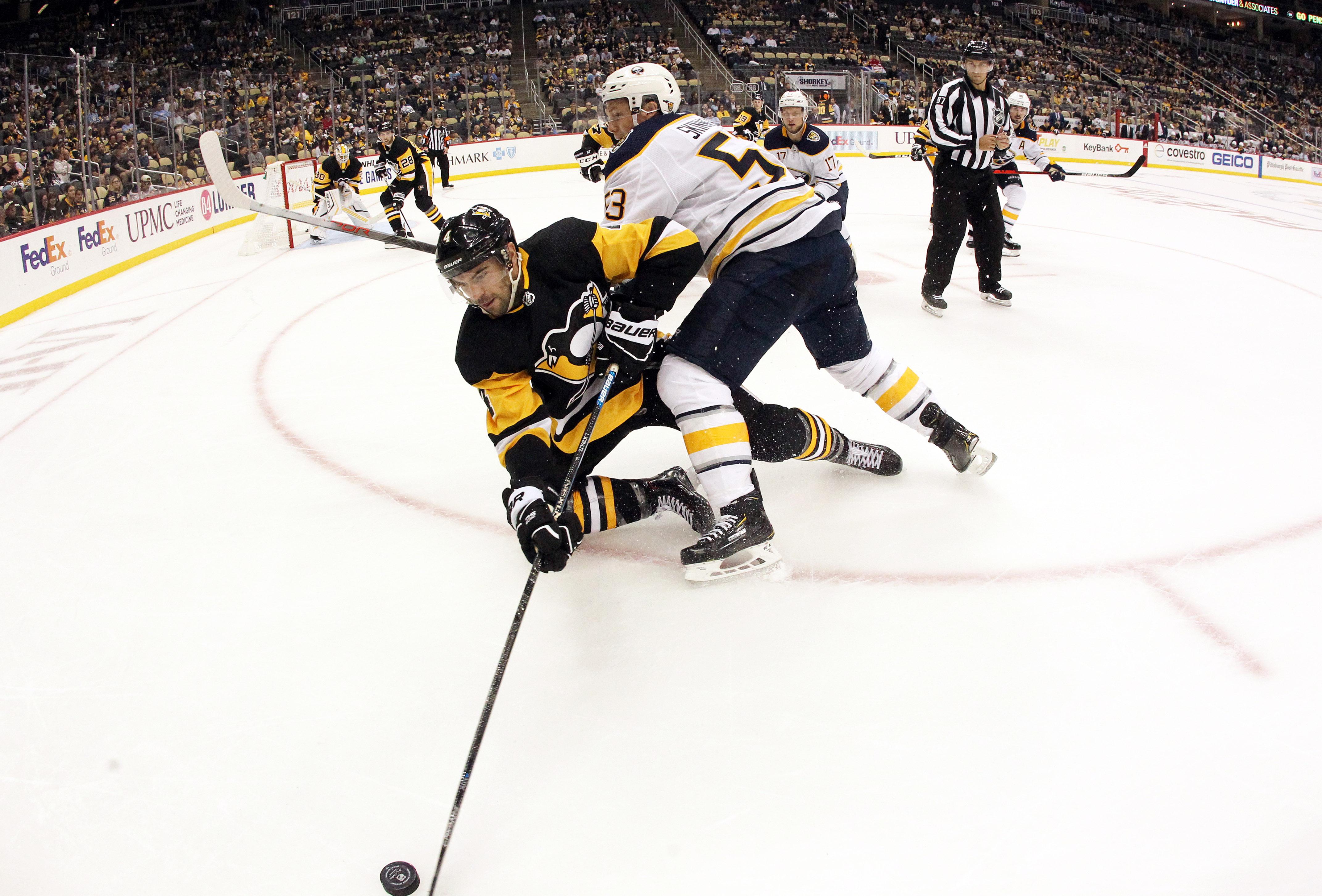 NHL: Buffalo Sabres at Pittsburgh Penguins