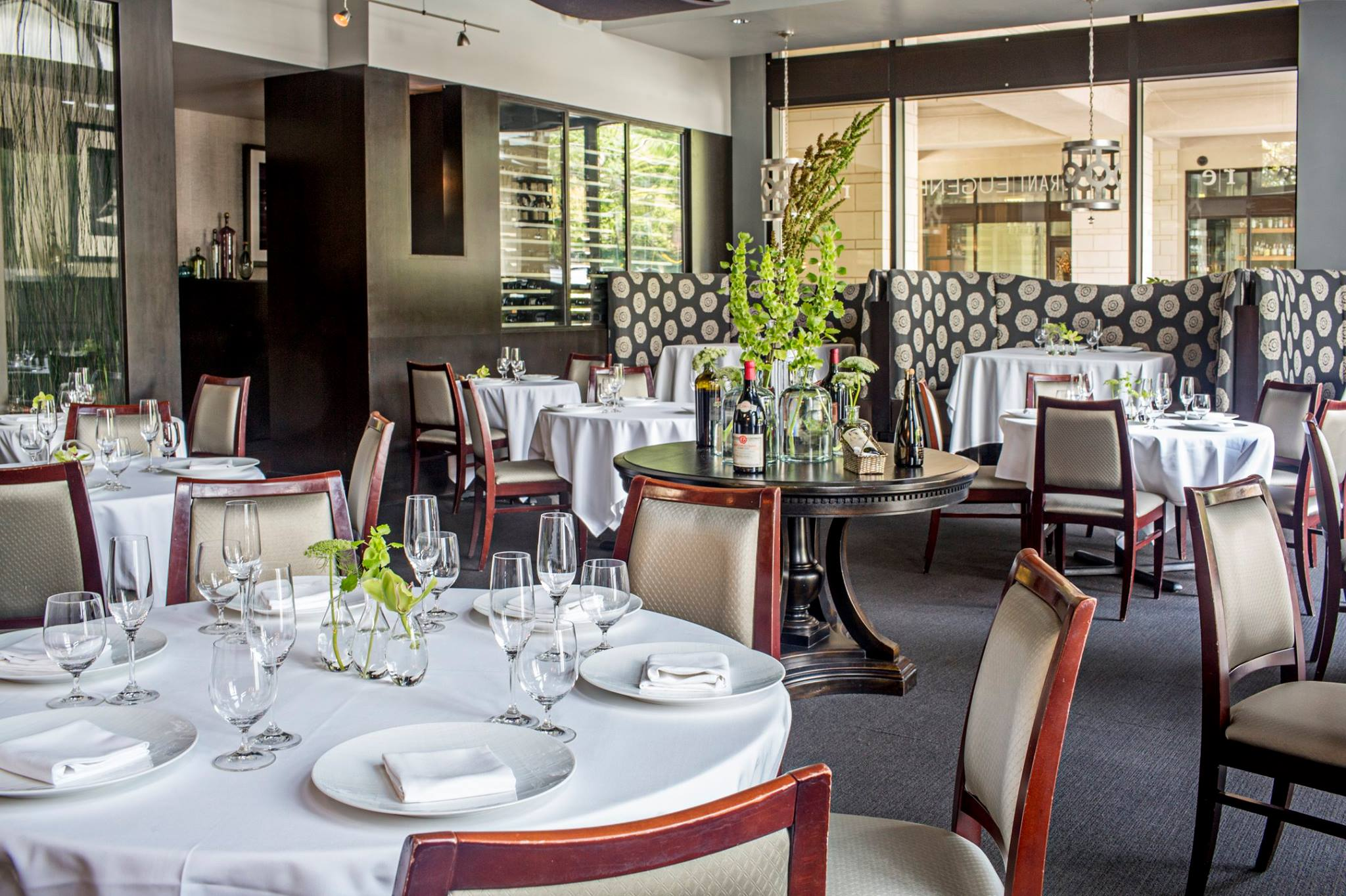 The dining room at now shuttered Restaurant Eugene on Peachtree Road