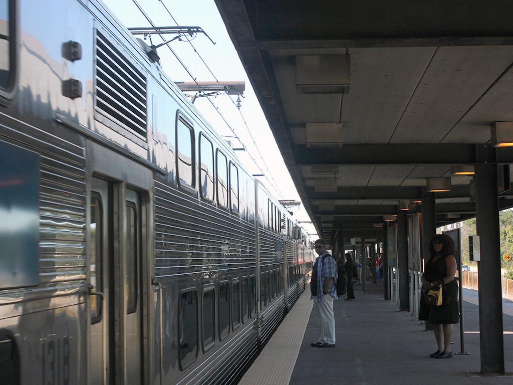 Metra Electric train at University Park. | Bill Ruminski/Sun-Times