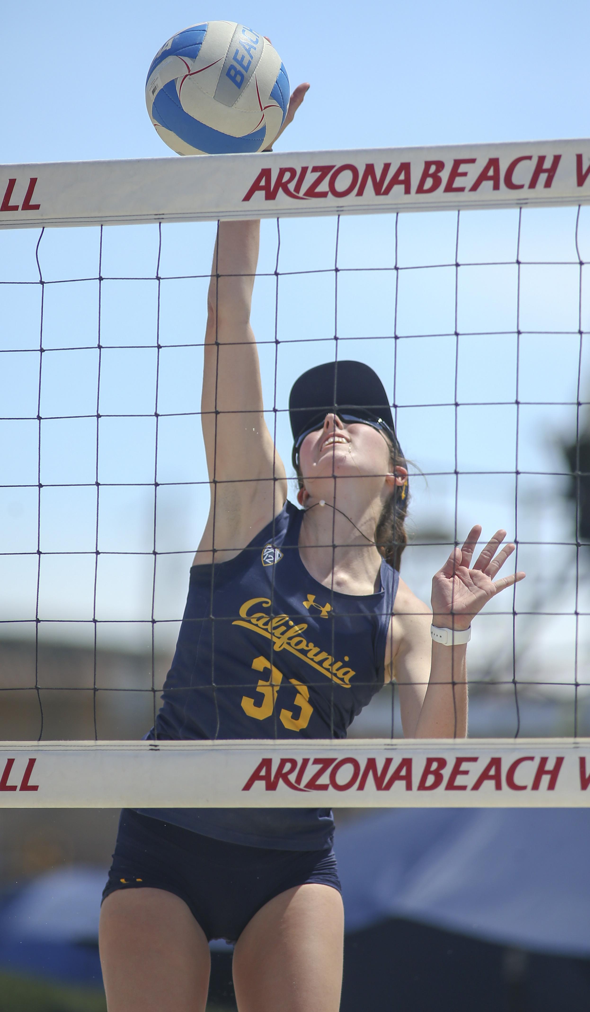 COLLEGE BEACH VOLLEYBALL: APR 07 California at Arizona