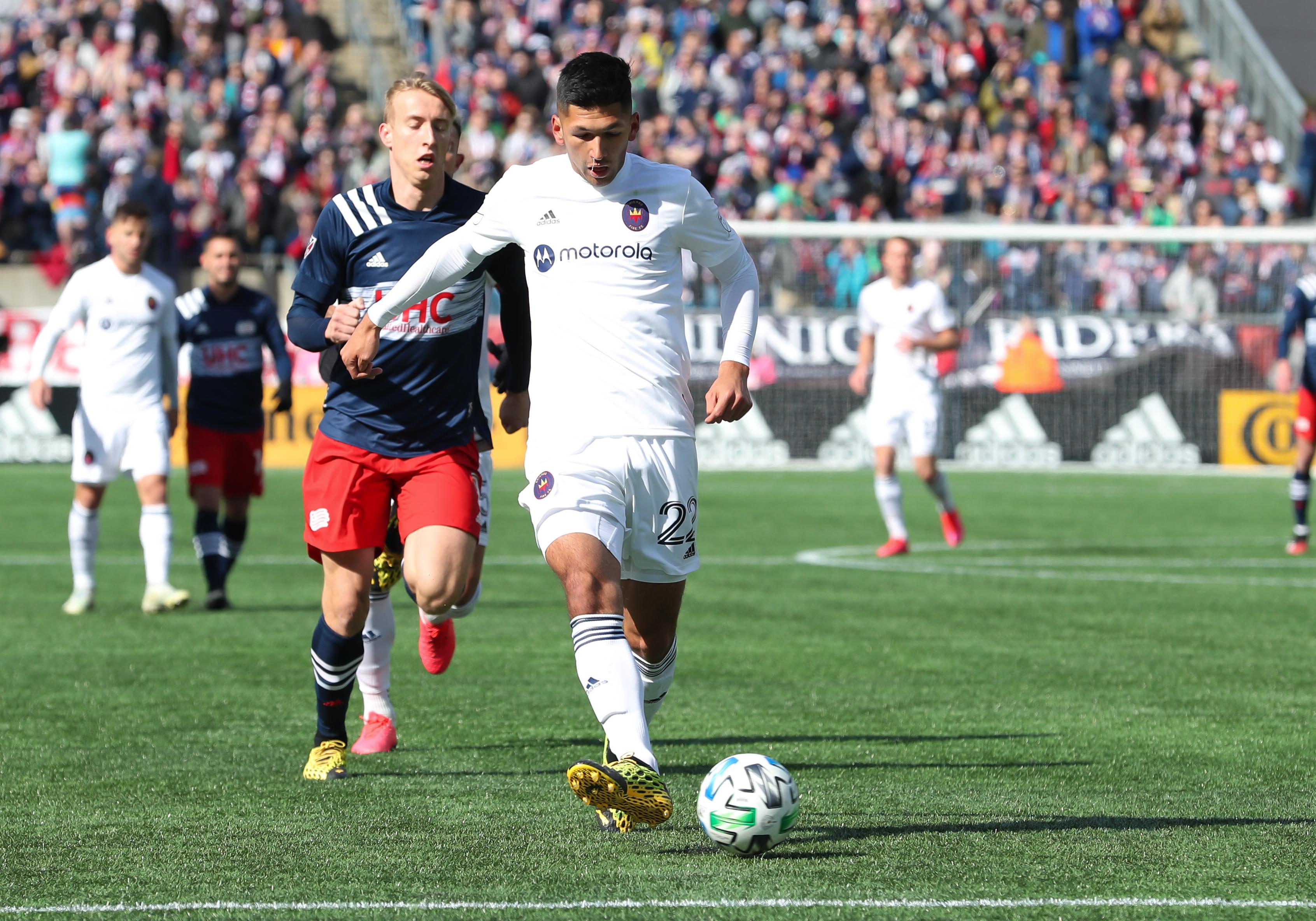 SOCCER: MAR 07 MLS - New England Revolution v Chicago Fire
