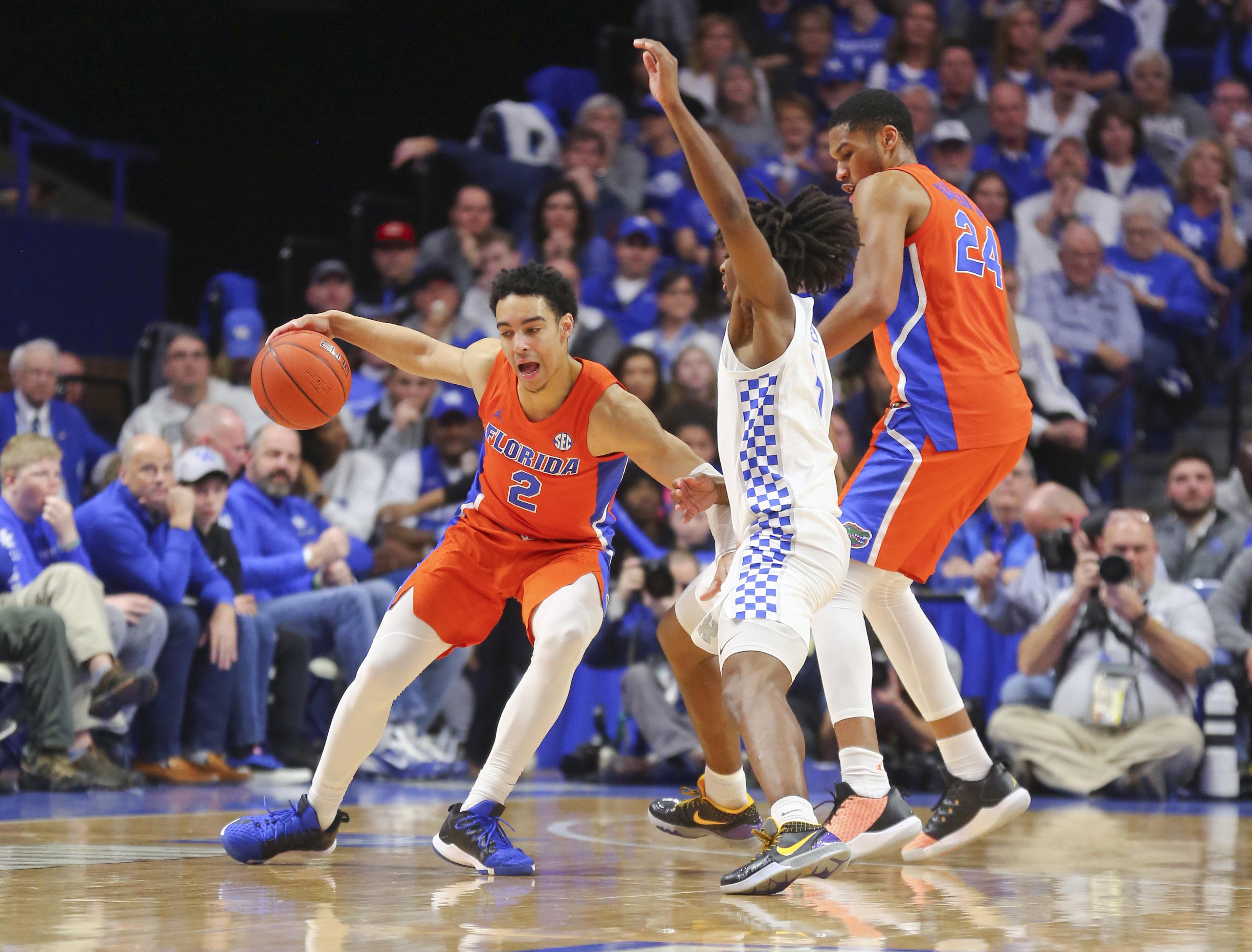 NCAA Basketball: Florida at Kentucky