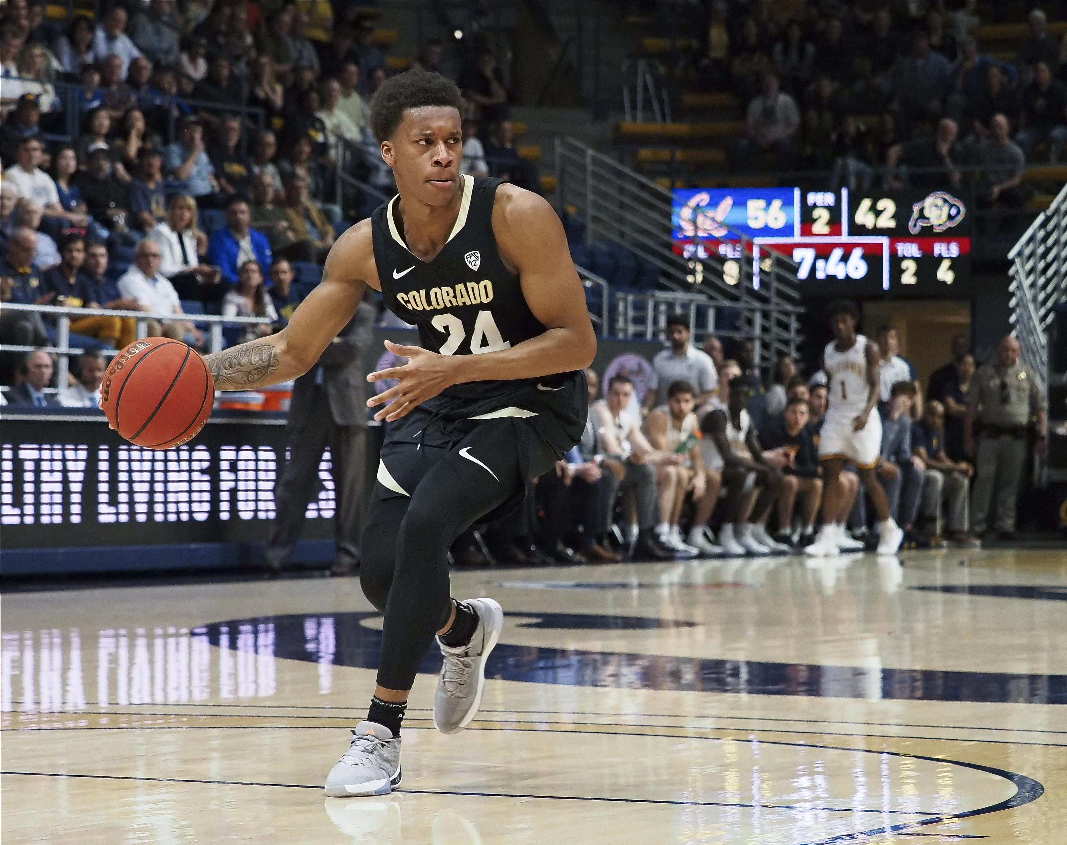 NCAA Basketball: Colorado at California