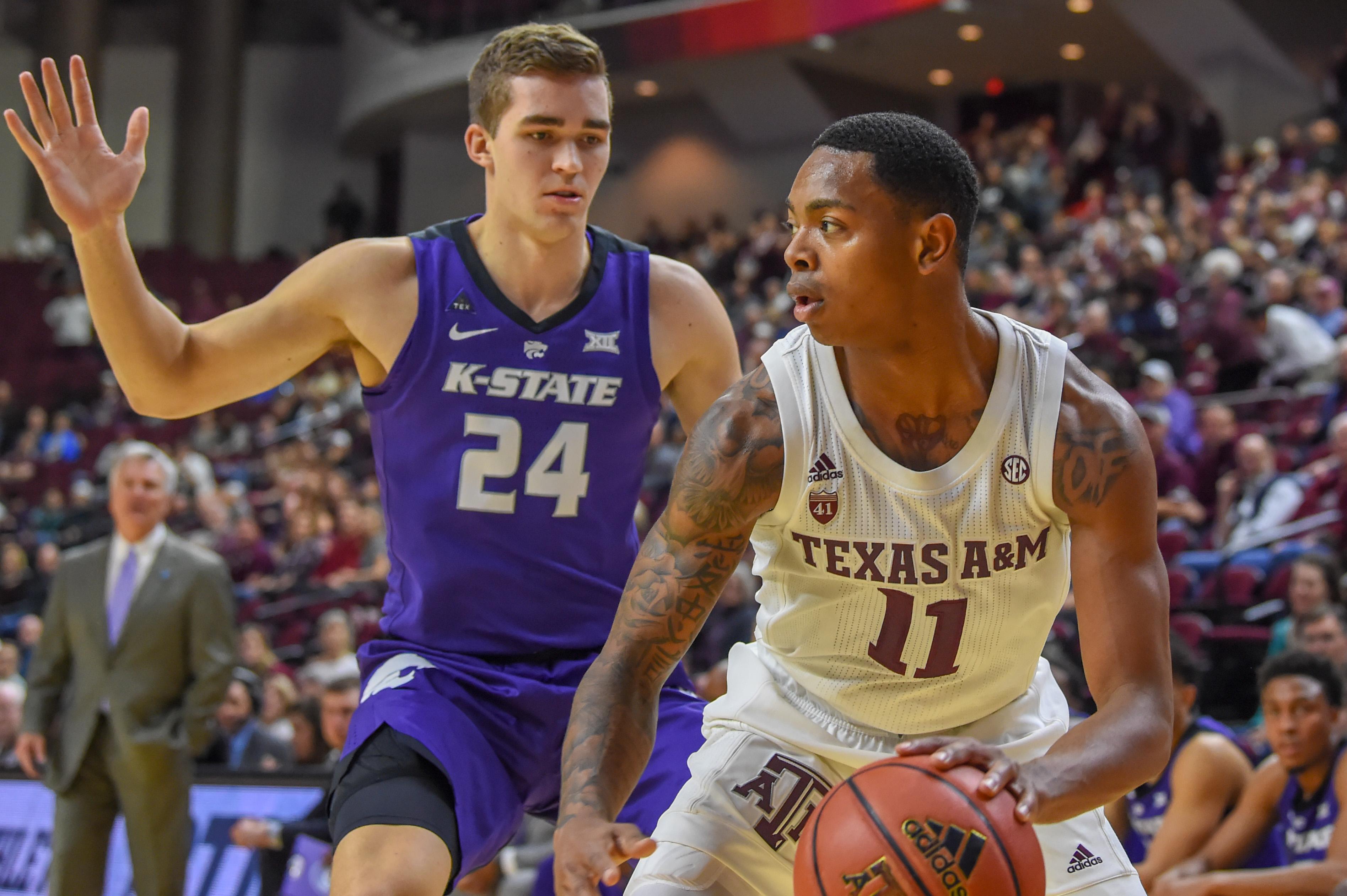 COLLEGE BASKETBALL: JAN 26 Kansas State at Texas A&M