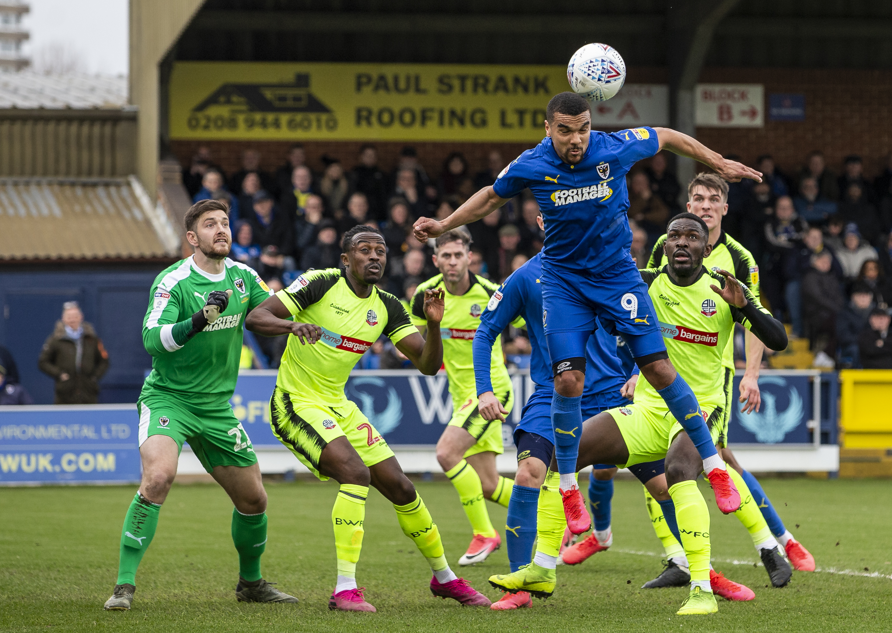 AFC Wimbledon v Bolton Wanderers - Sky Bet League One