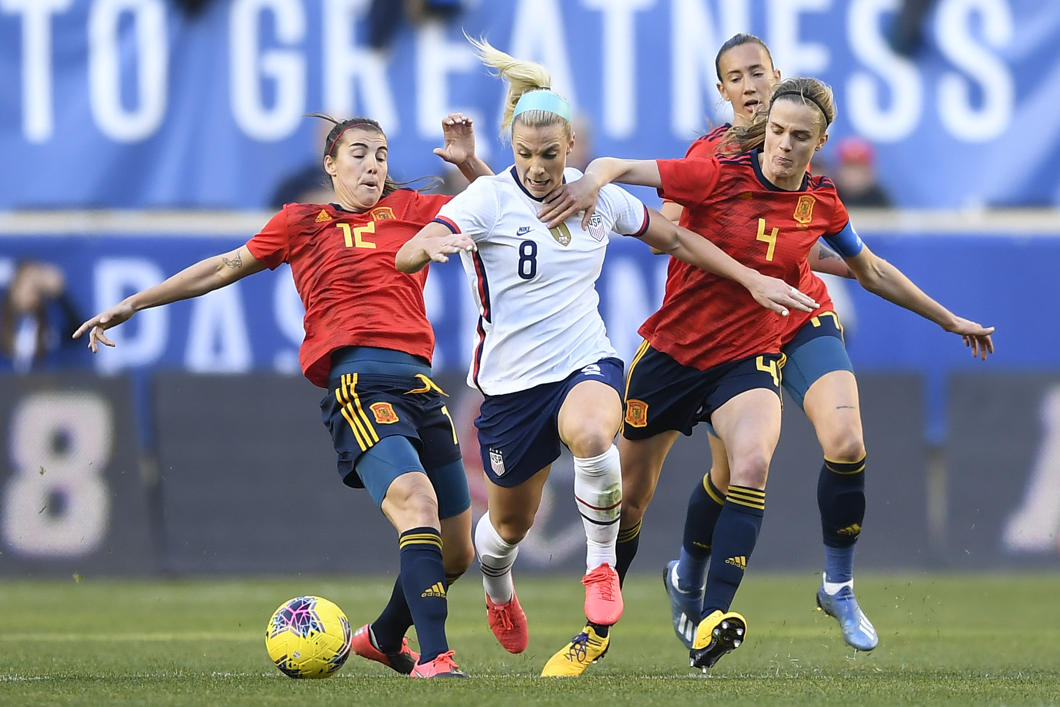 2020 SheBelieves Cup - United States v Spain