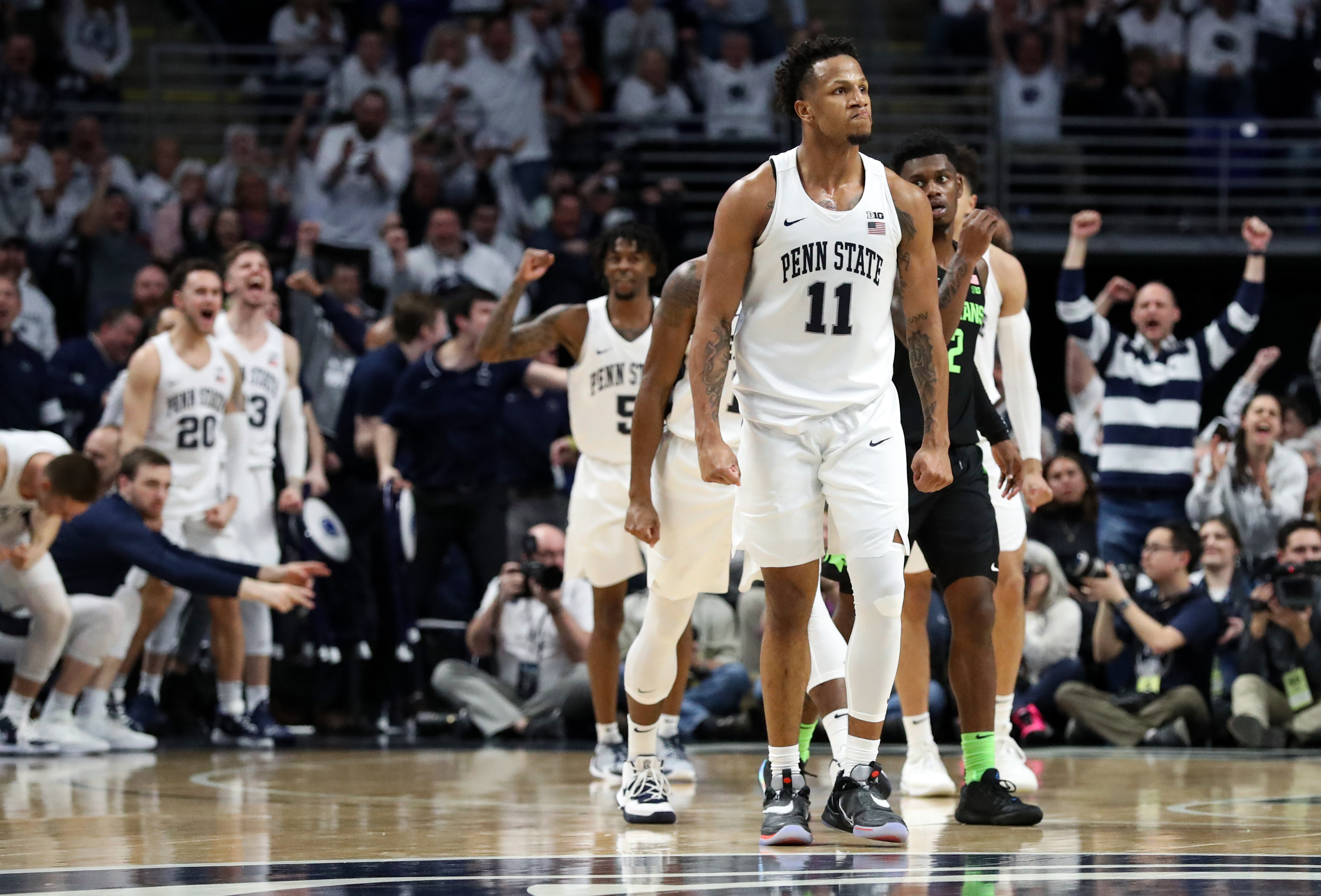NCAA Basketball: Michigan State at Penn State