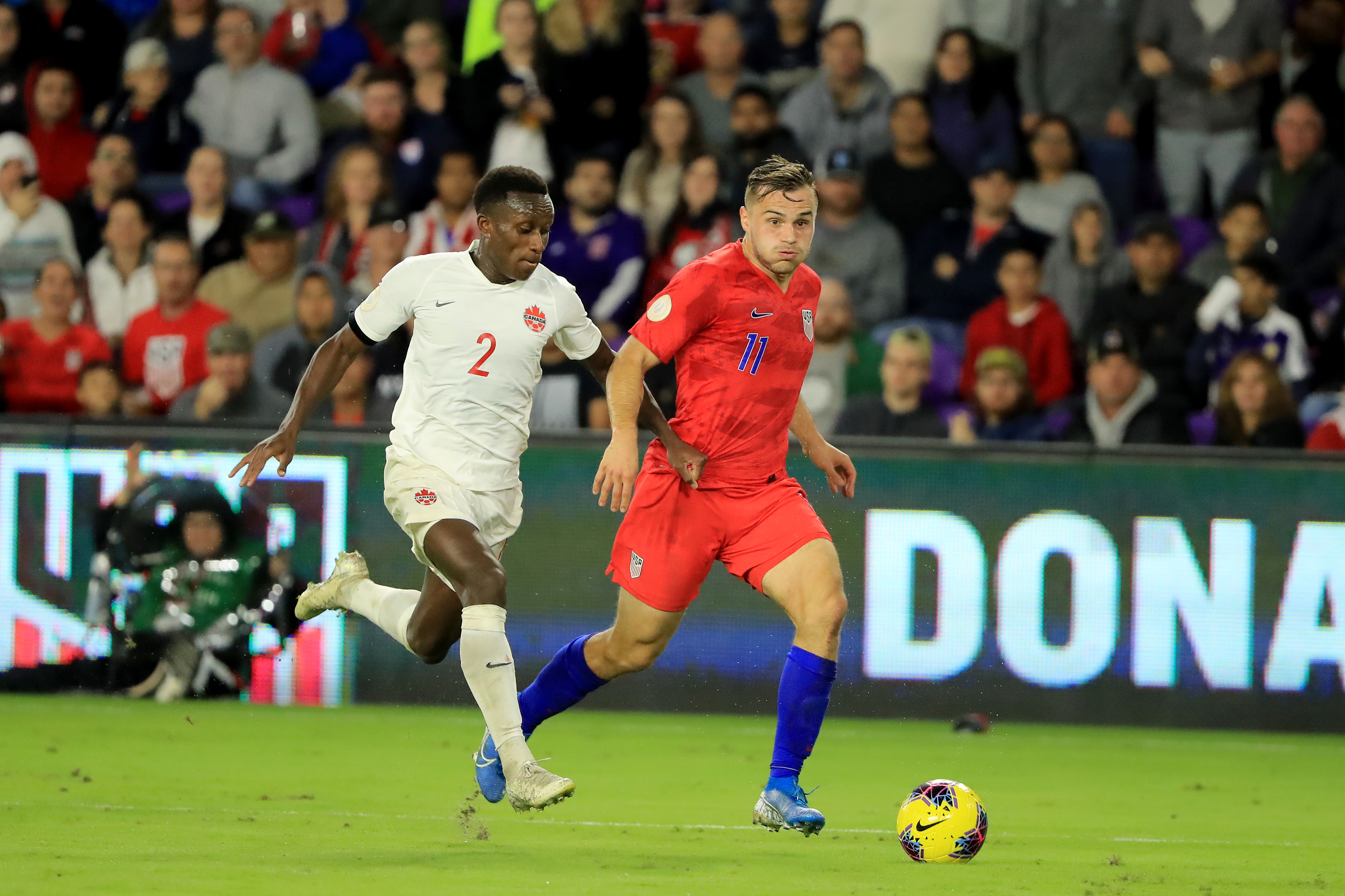 Canada v United States - CONCACAF Nations League