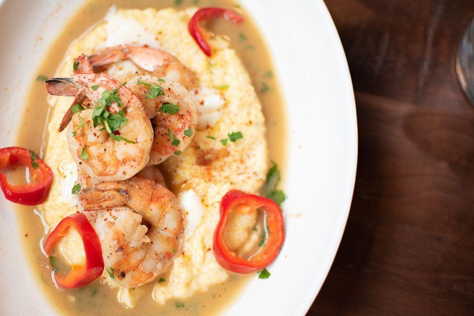 Shrimp and grits at Provision