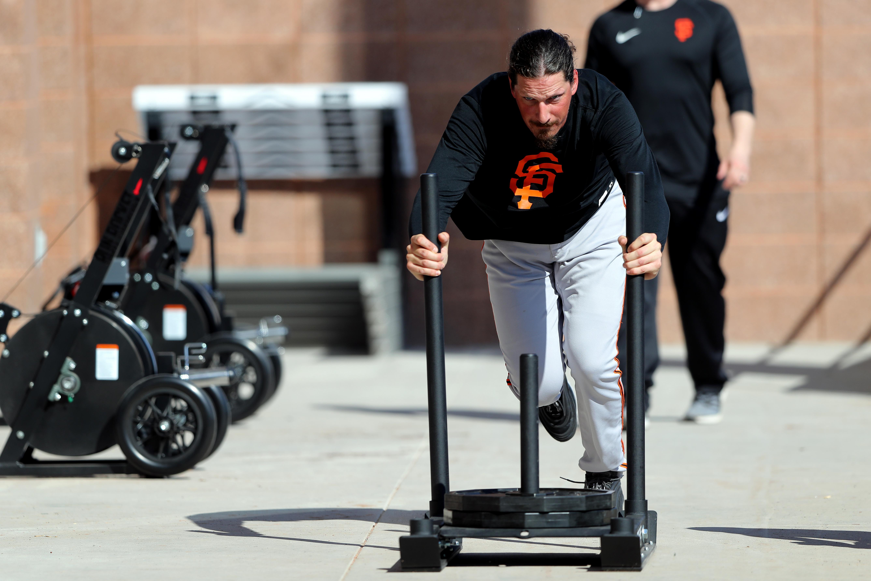 San Francisco Giants Workout
