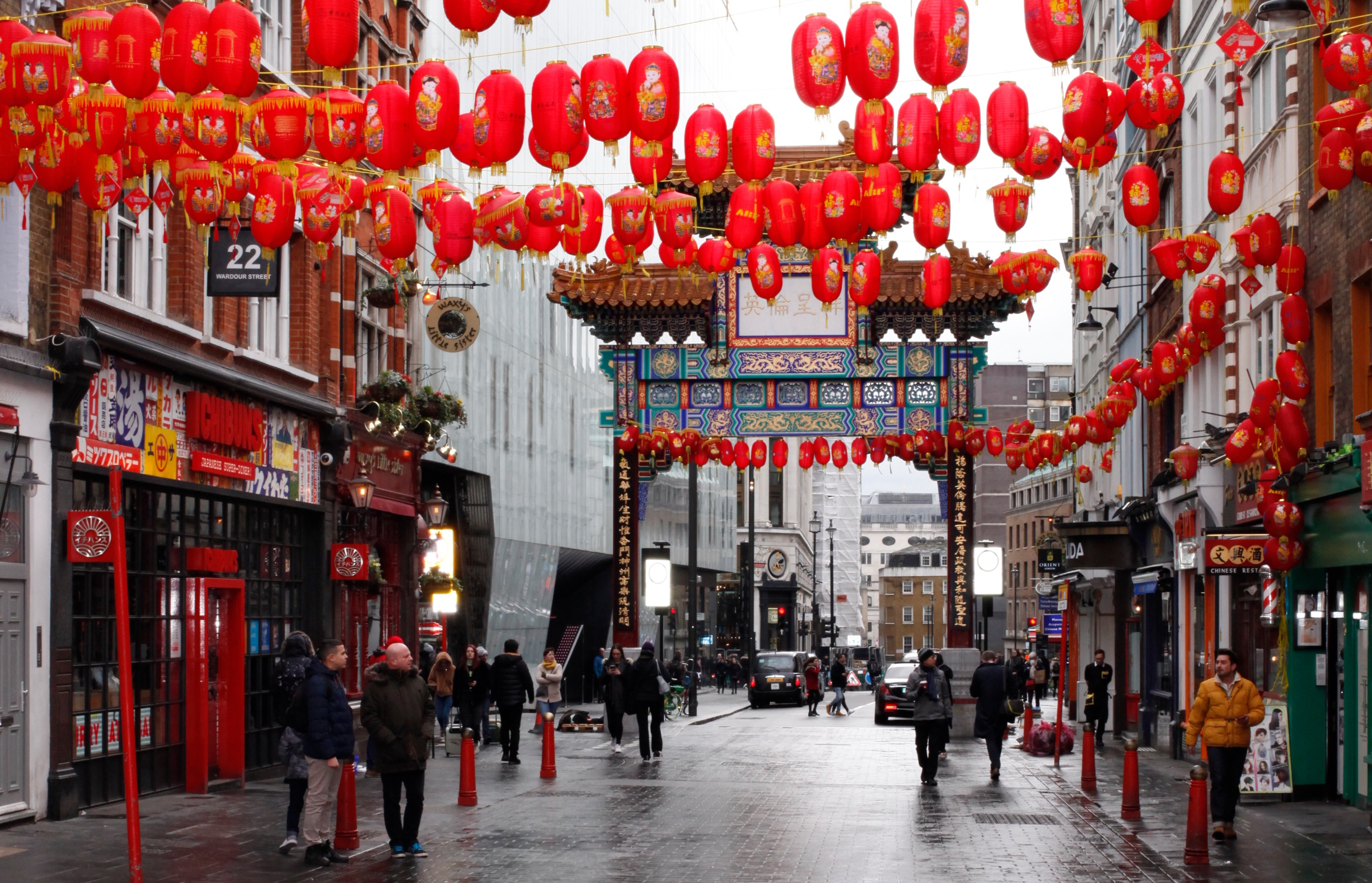 One of the main streets in London's Chinatown last month. Coronavirus (COVID-19) has had an adverse affect on businesses in the area with some restaurants reporting a 50 percent drop in custom; while others have reportedly closed.
