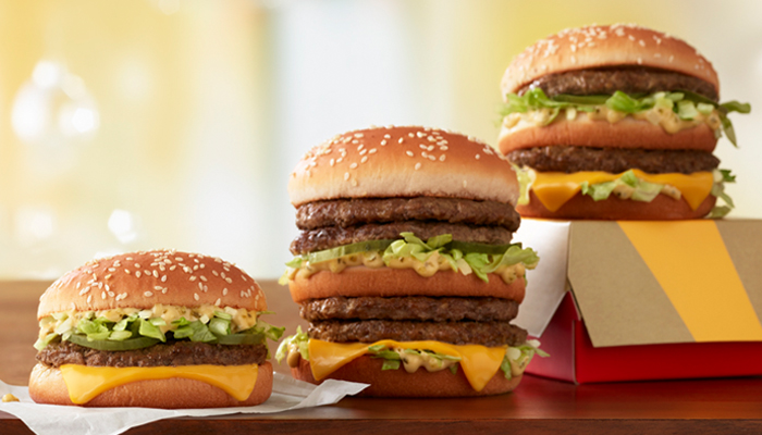 The Little Mac and Double Big Mac will be released Wednesday at select locations.