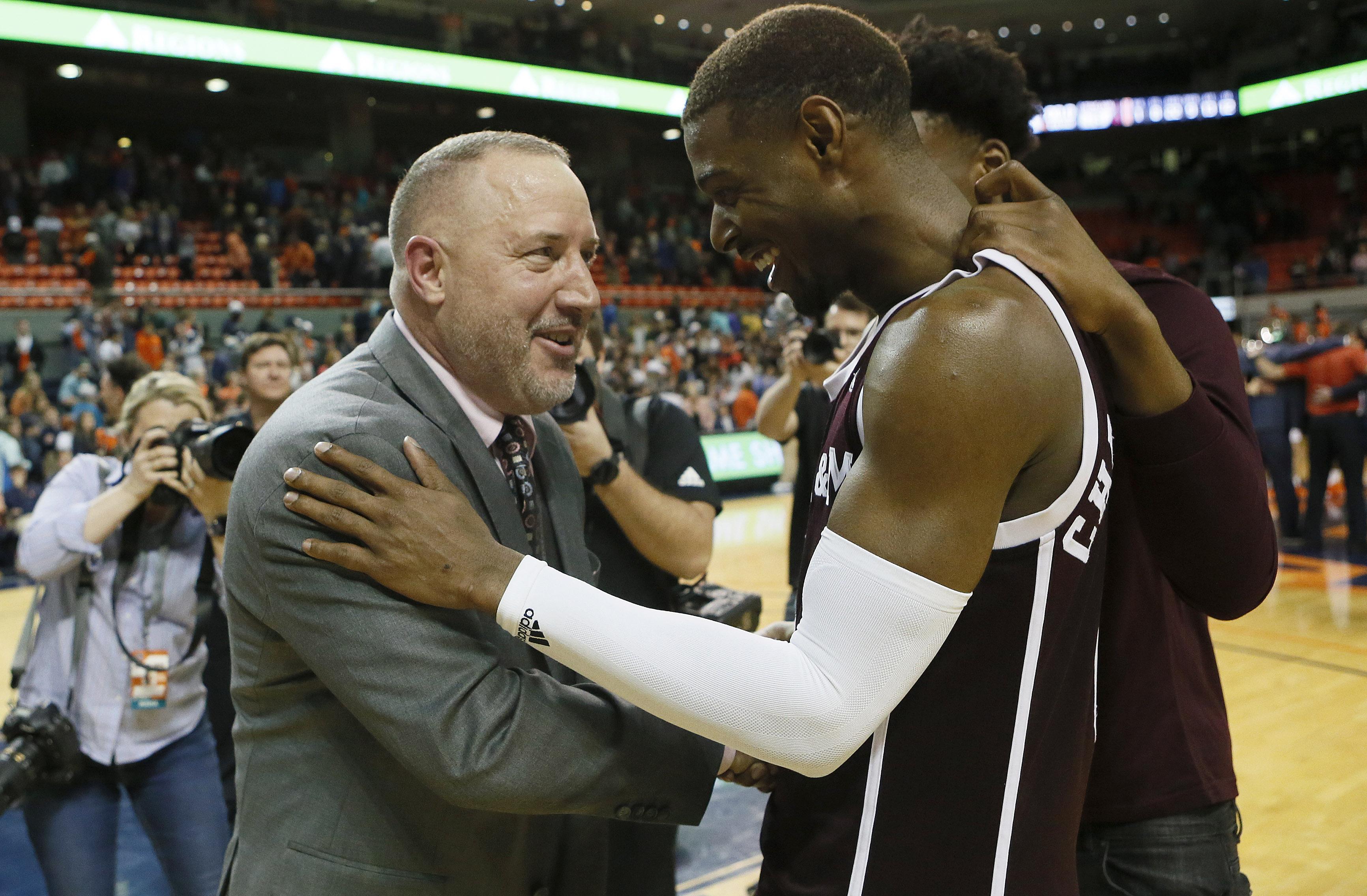 NCAA Basketball: Texas A&M at Auburn