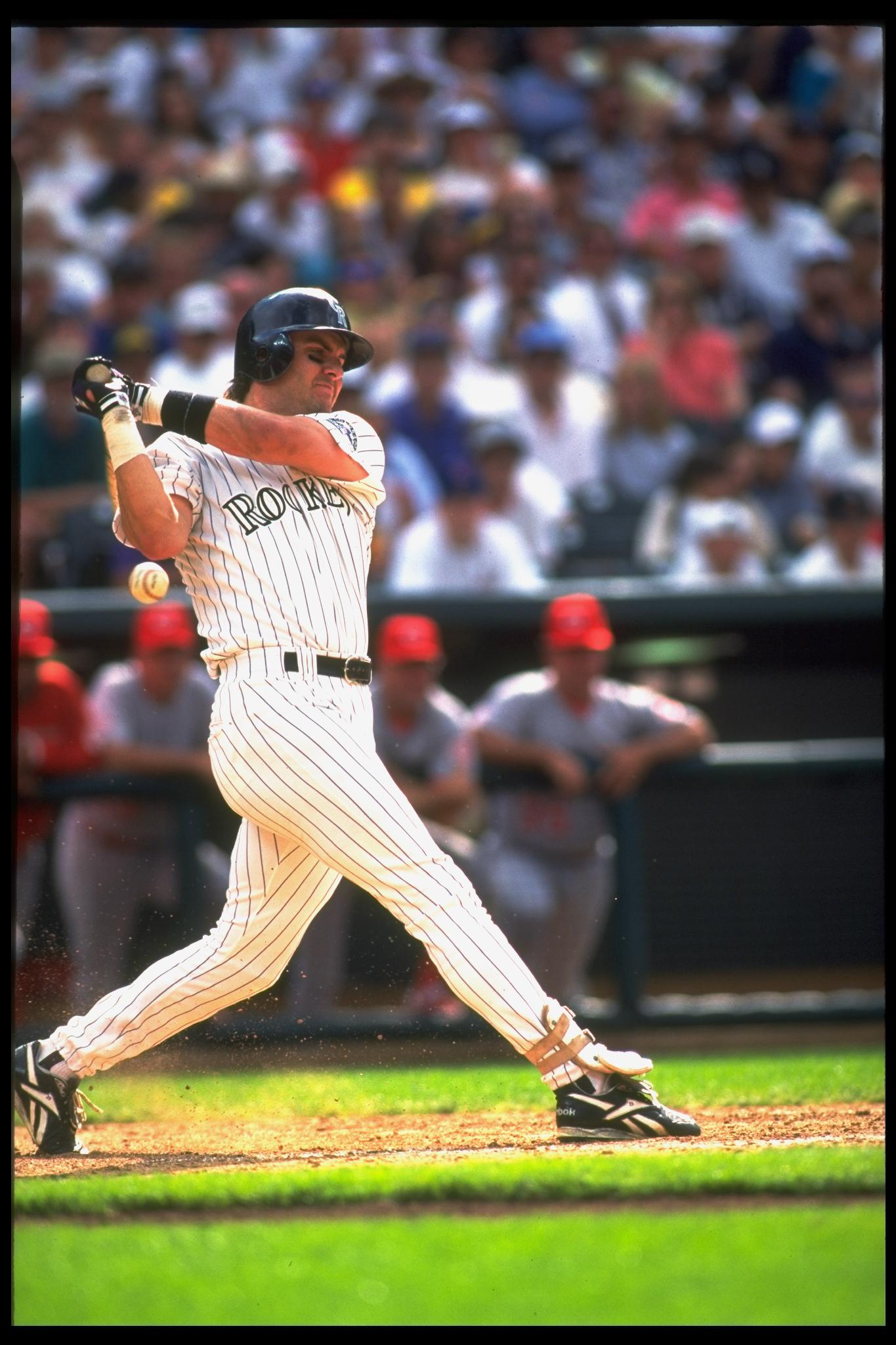 Baseball: Colorado Rockies Larry Walker