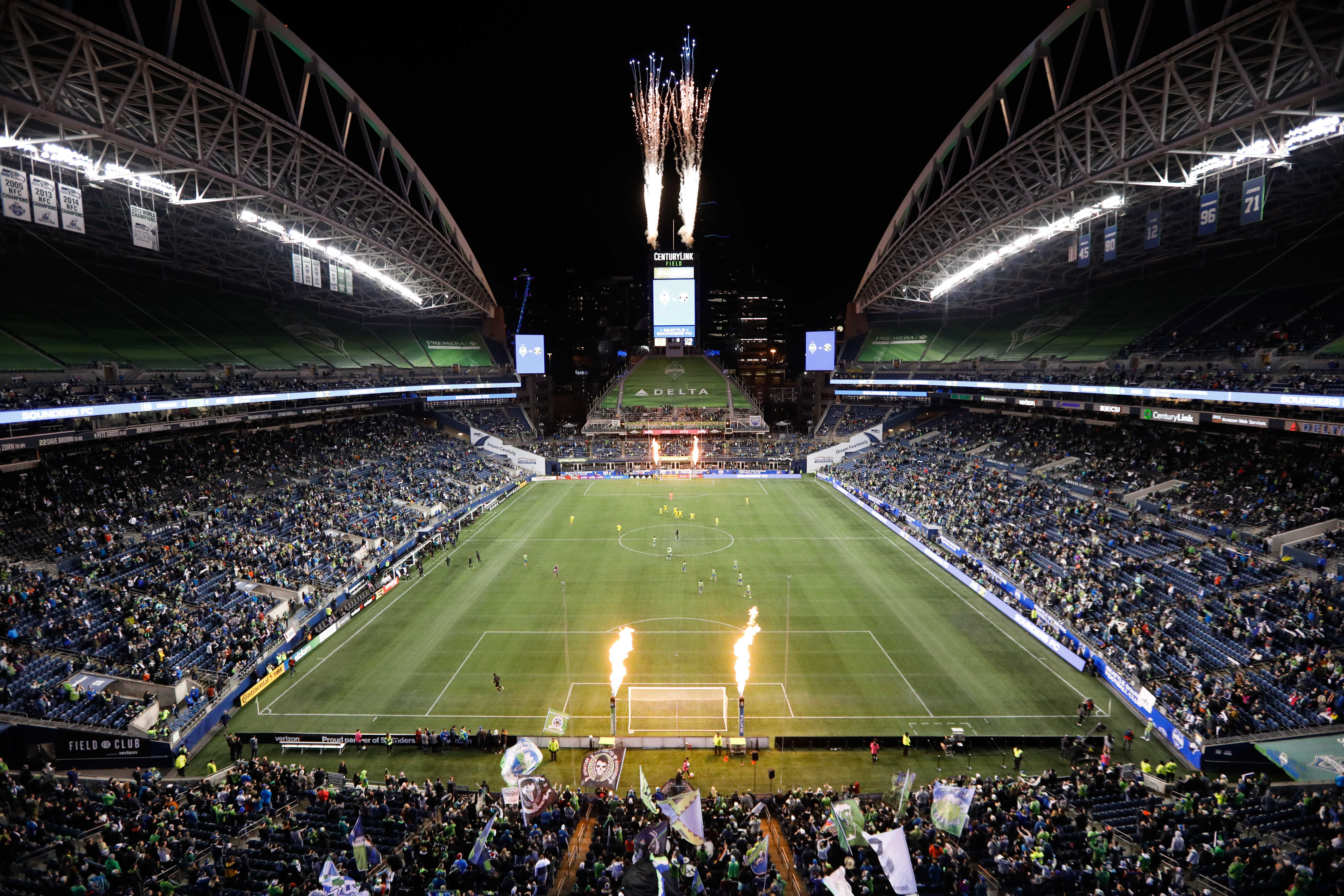MLS: Columbus Crew SC at Seattle Sounders FC