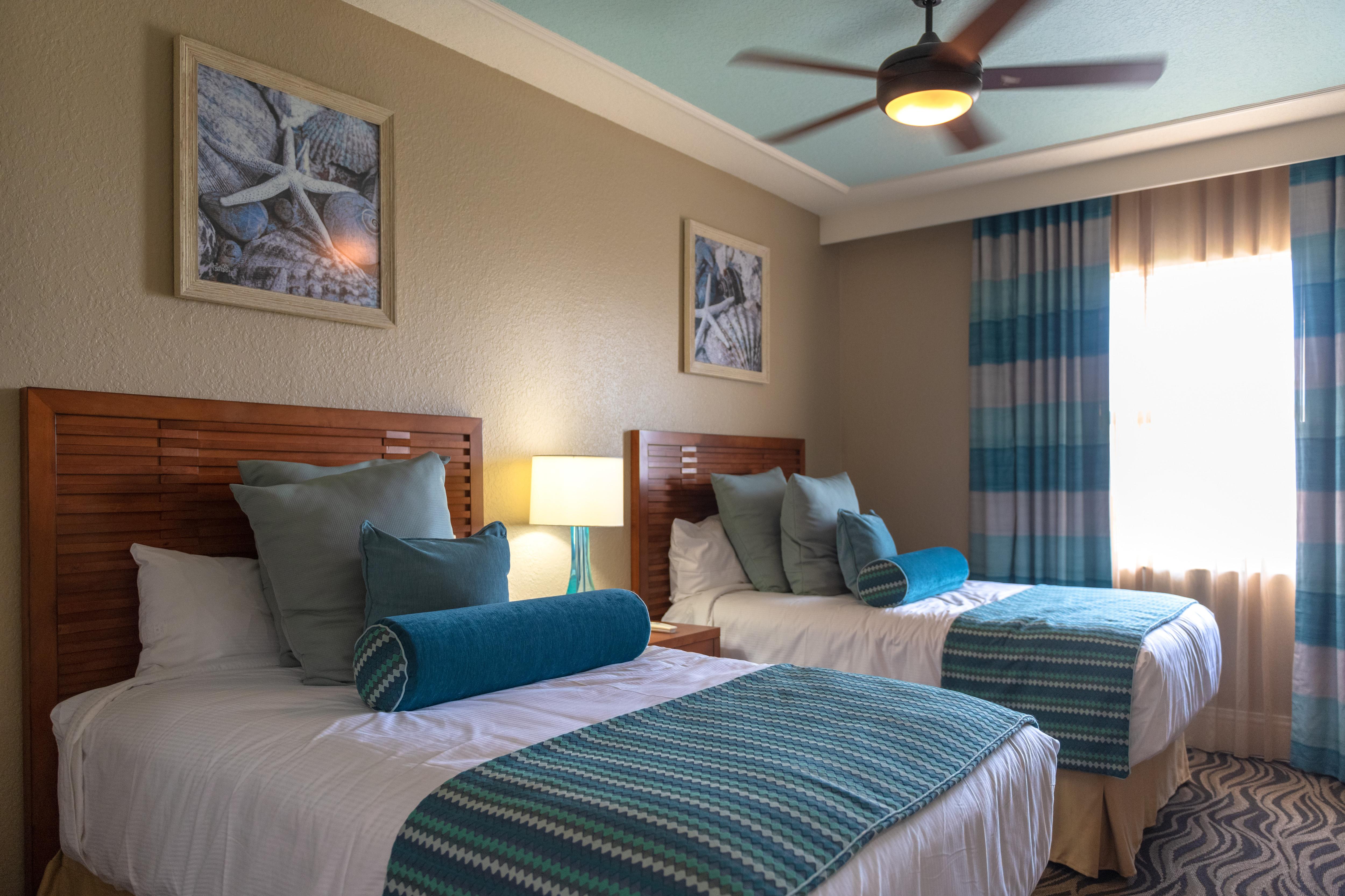 温德姆棕榈空气度假村的豪华卧室。。。