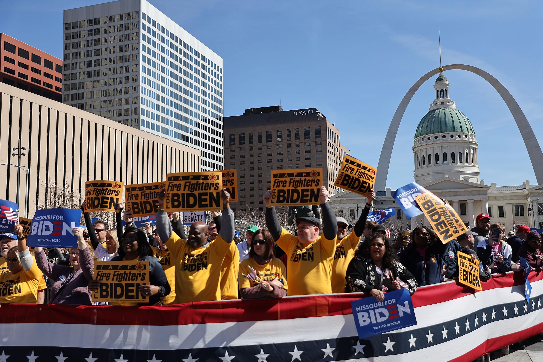 Presidential Candidate Joe Biden Campaigns In St. Louis