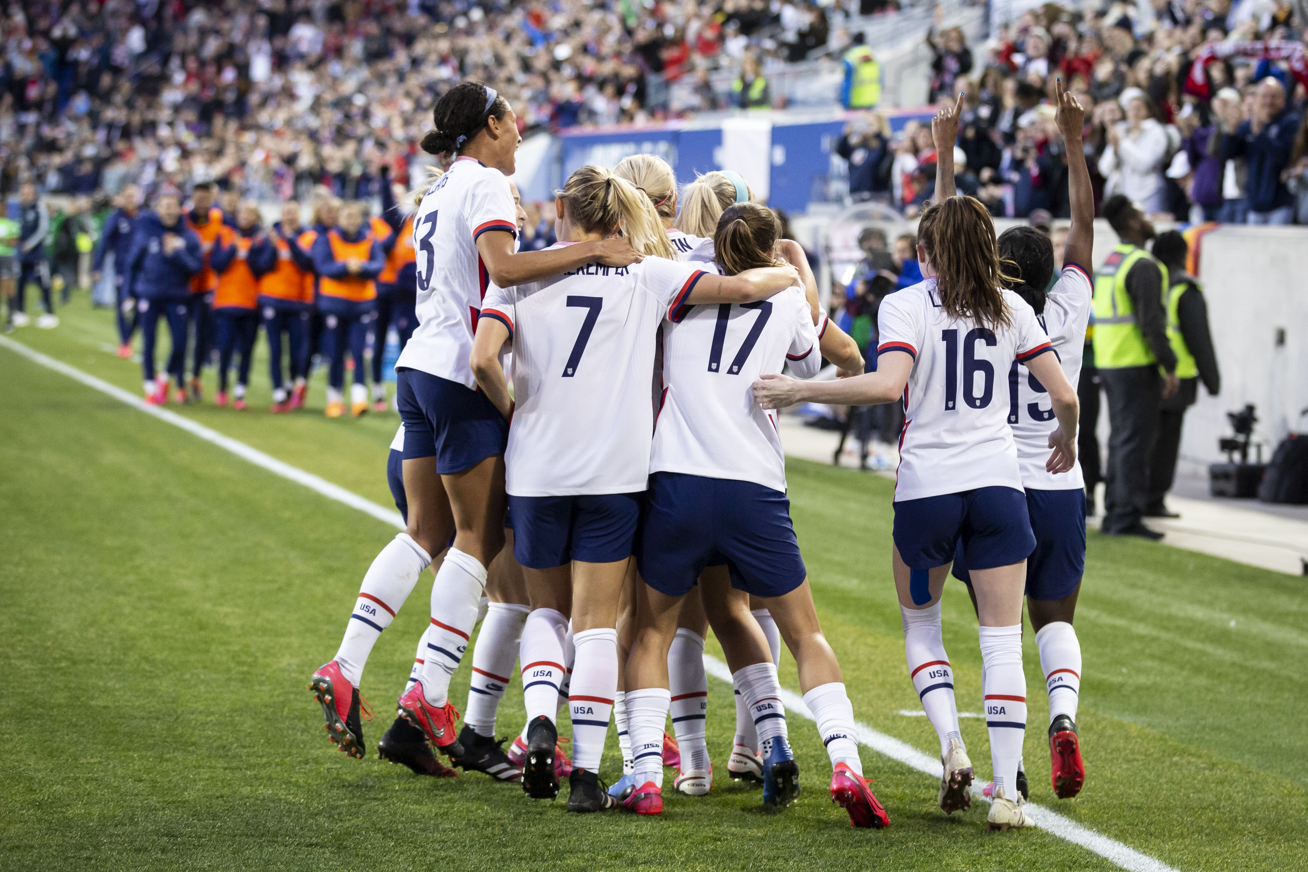 2020 SheBelieves Cup: United States Press Conference and Training Session