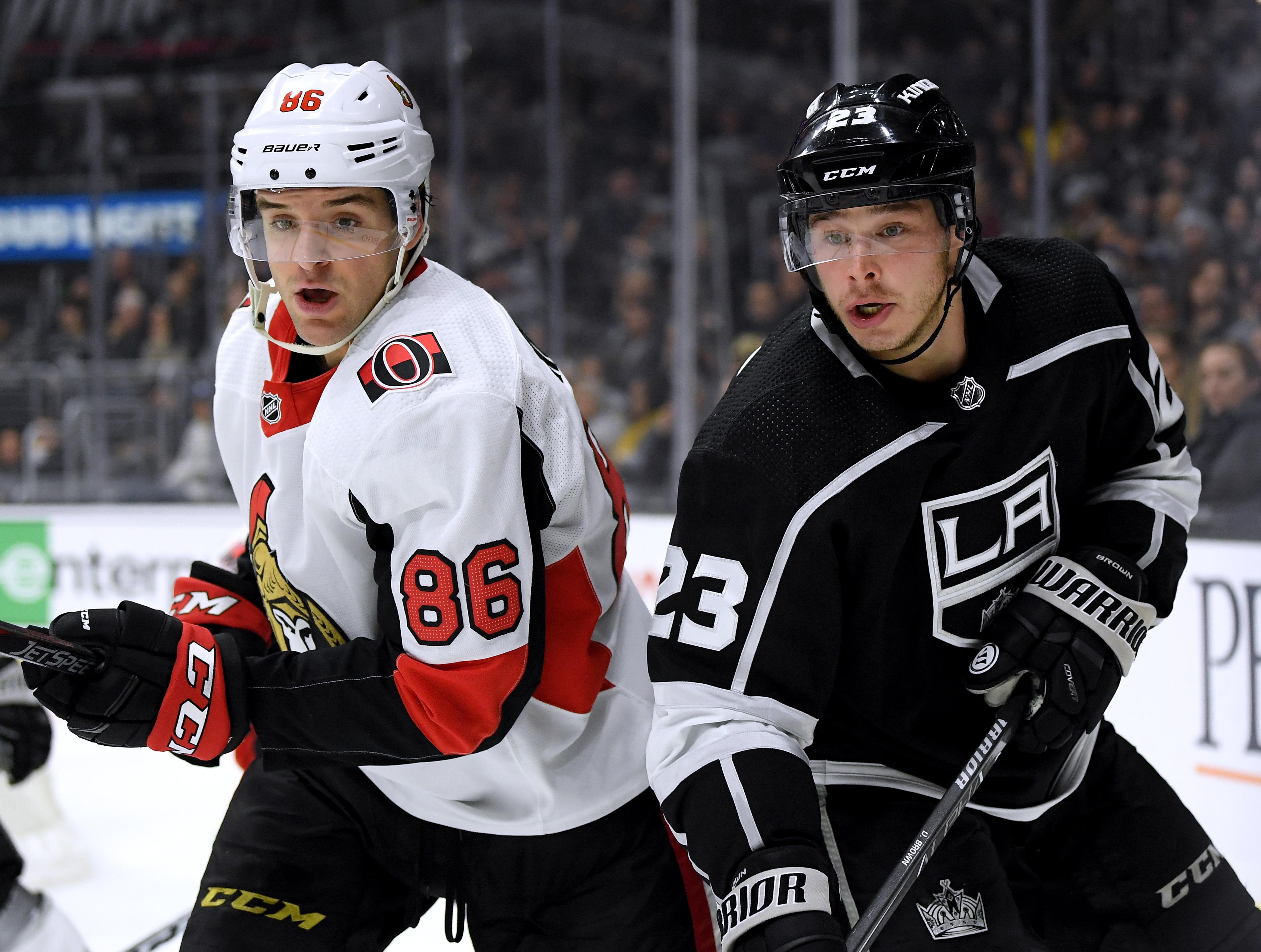 Ottawa Senators v Los Angeles Kings