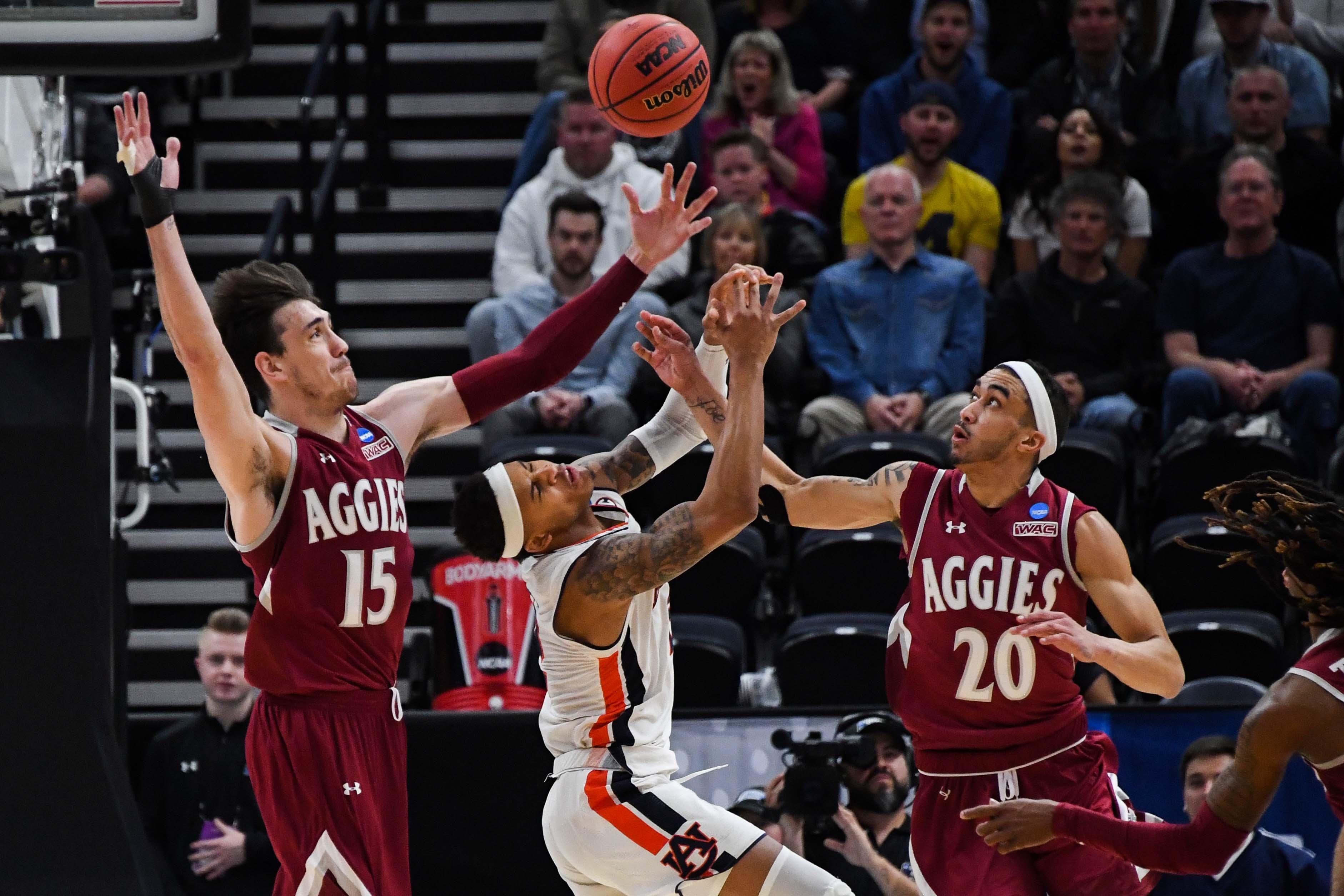 NCAA Basketball: NCAA Tournament-First Round-Auburn vs New Mexico State
