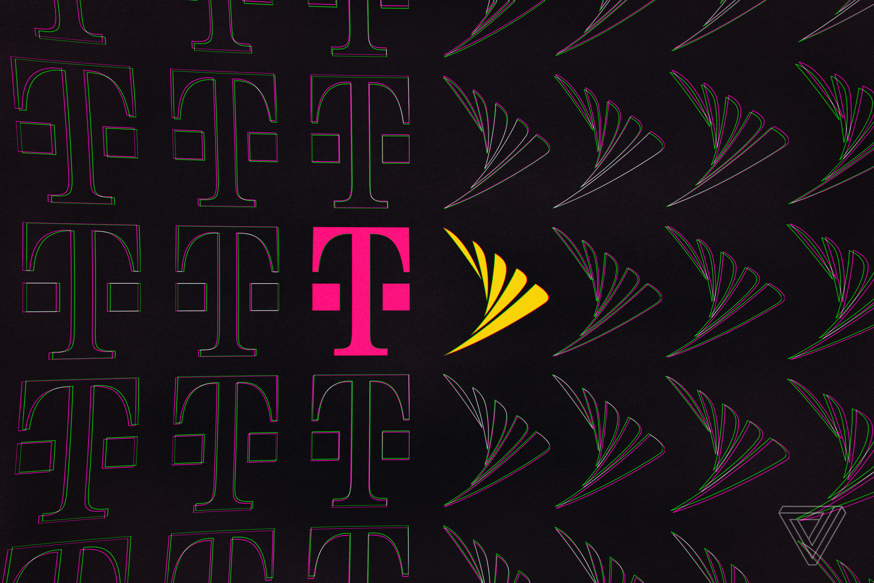 t-mobile and sprint logos