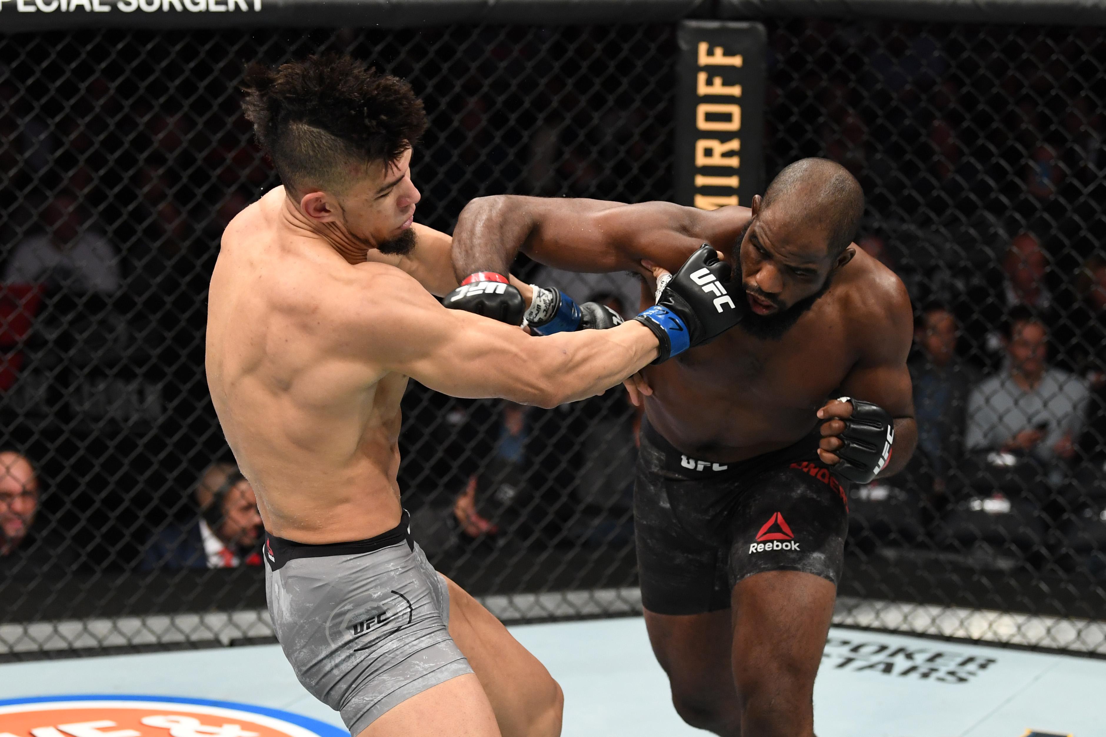 UFC 244: Anderson v Walker