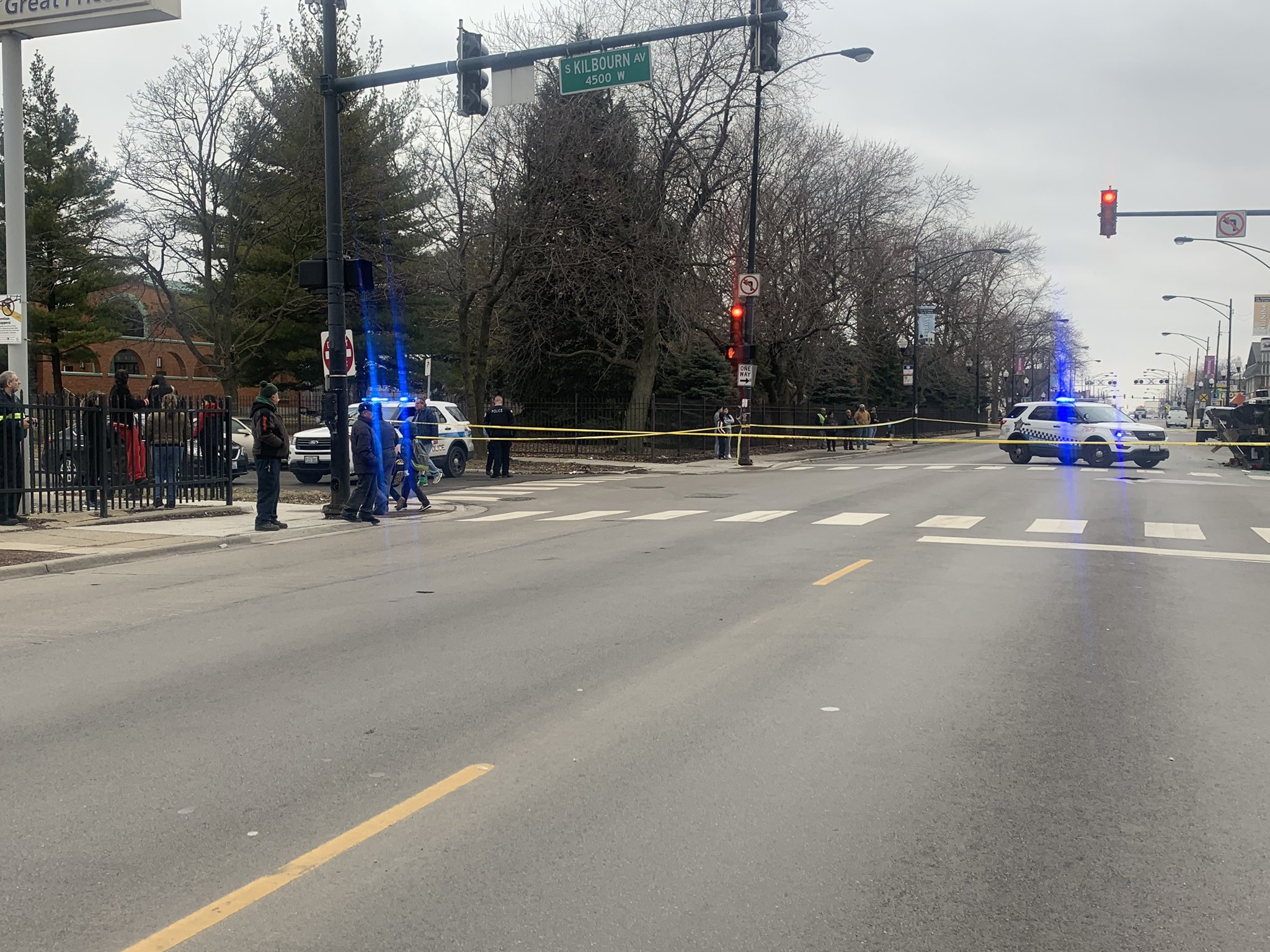A man was killed in a crash in West Lawn