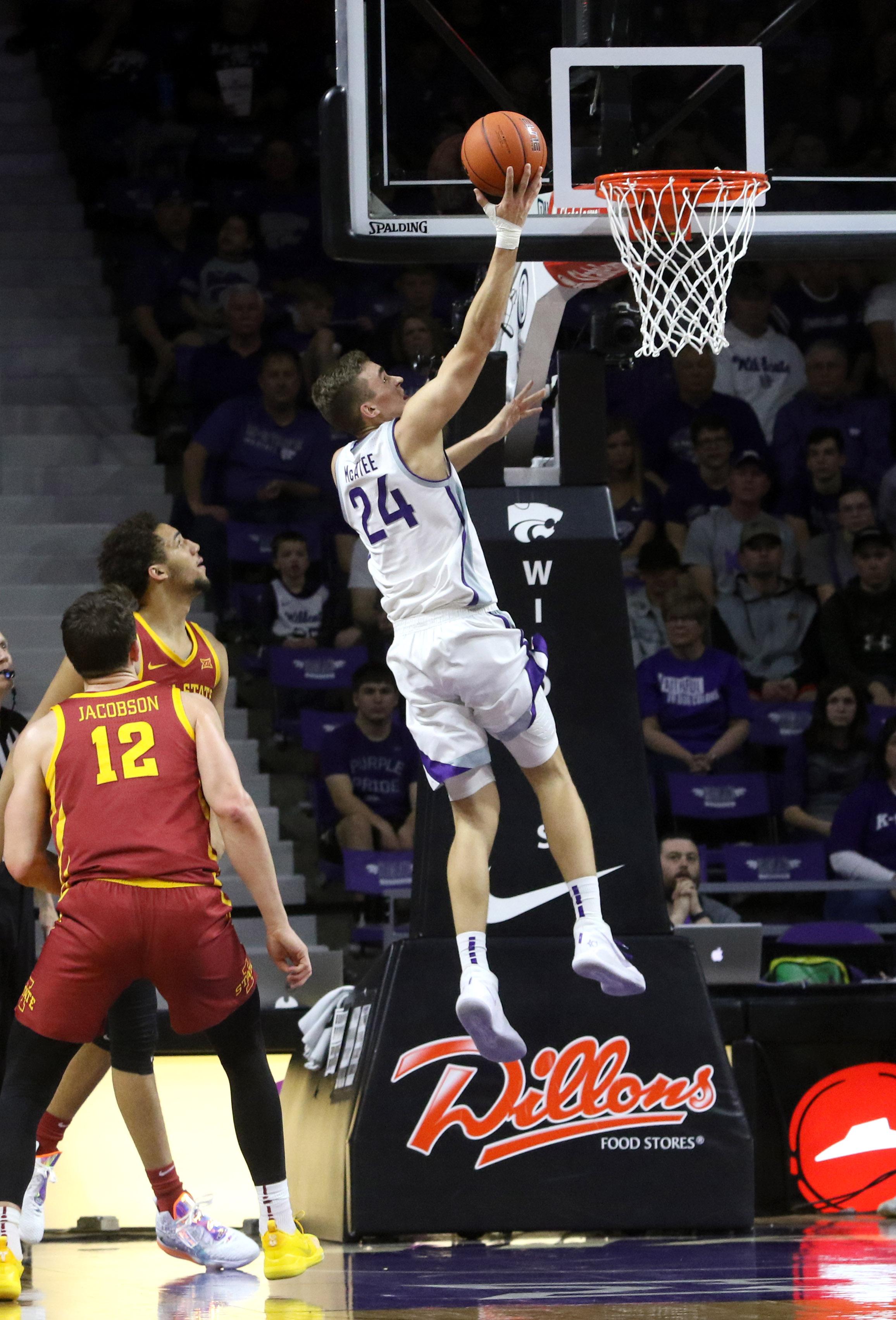NCAA Basketball: Iowa State at Kansas State