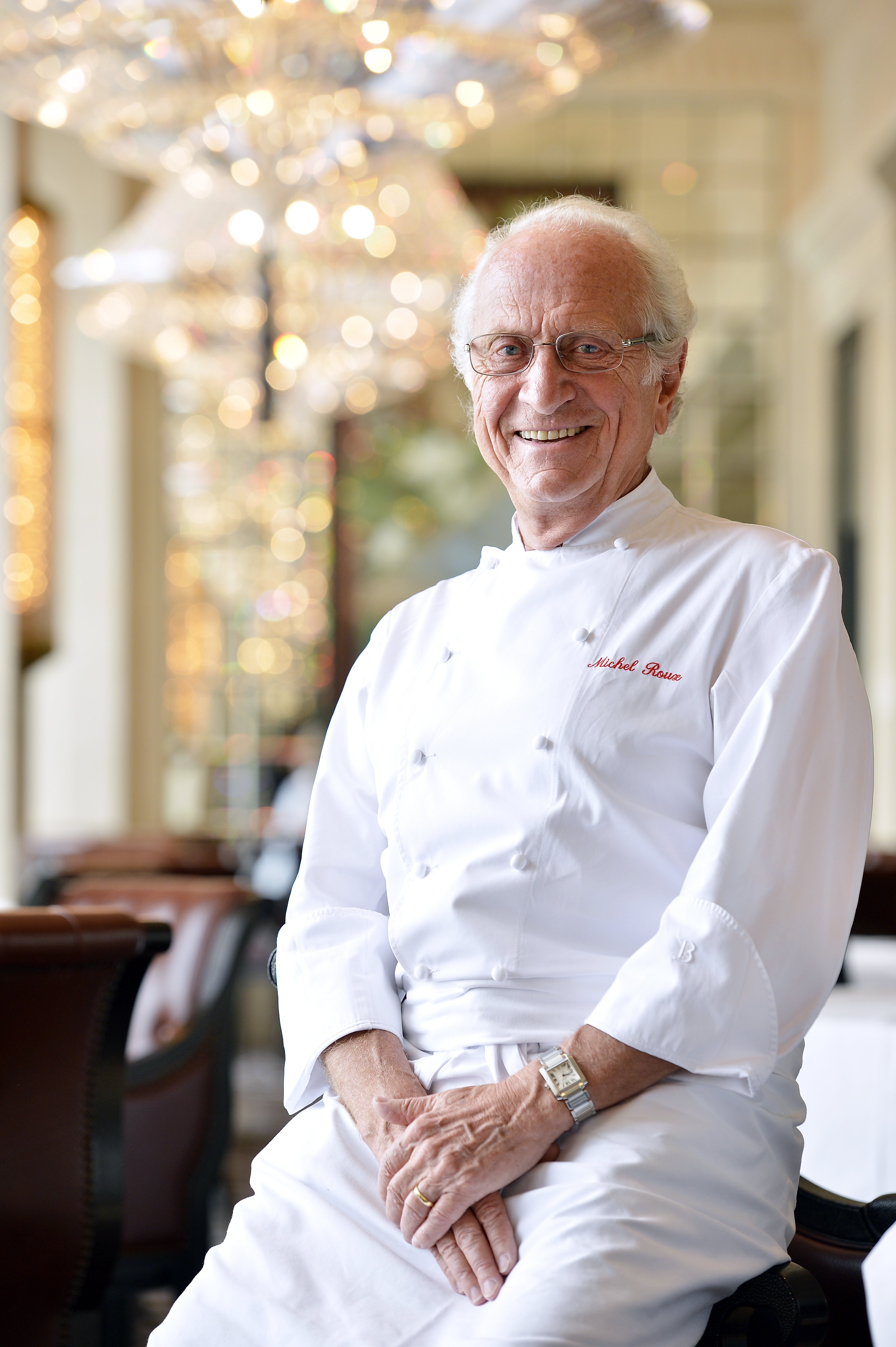 Chef Michel Roux, who has died at 79