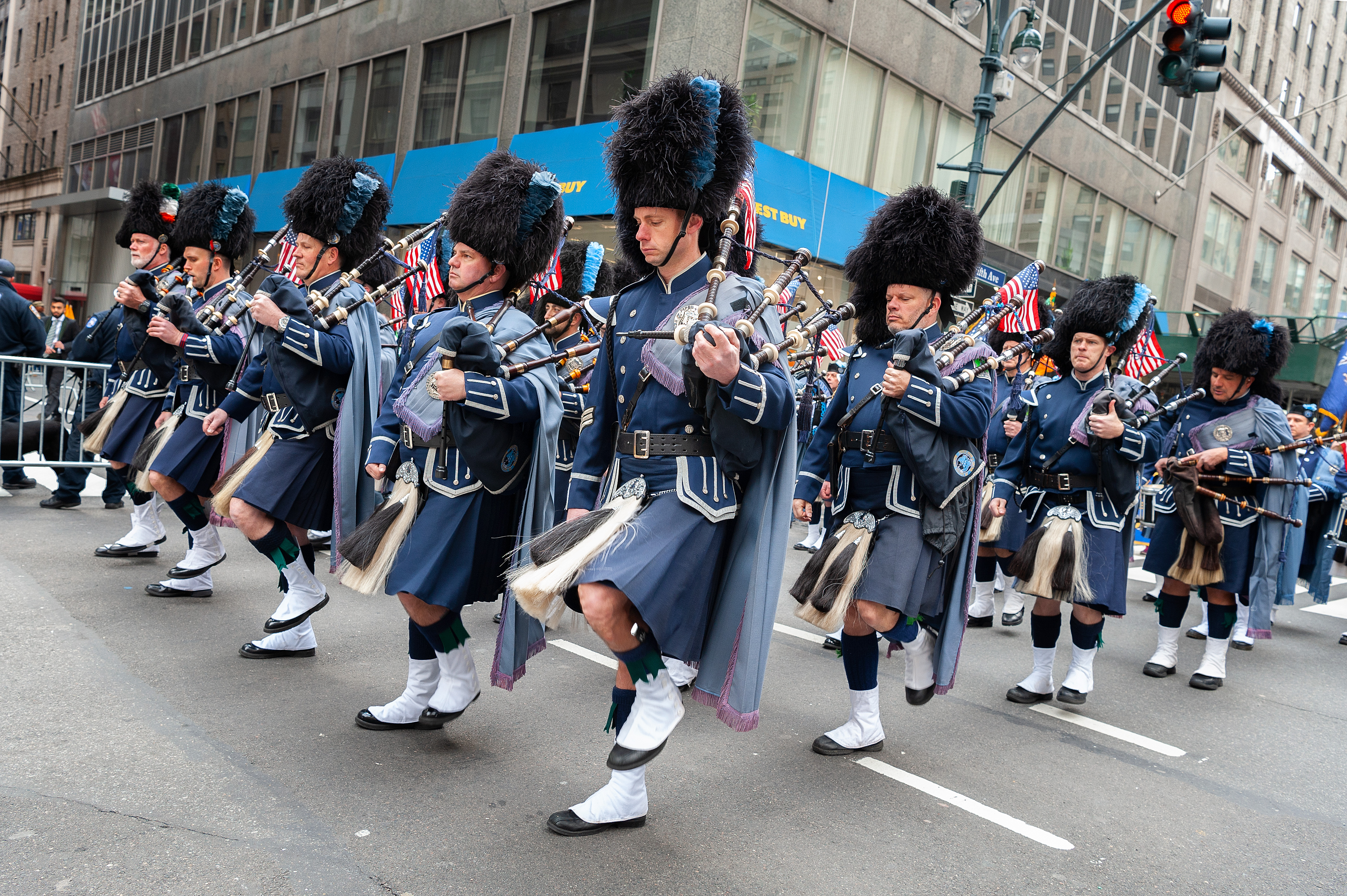 Marking the 258th St. Patricks Day Parade, the oldest and...