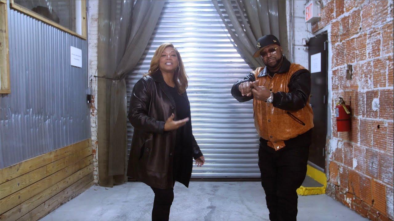 Queen Latifah and DJ Kay Slay