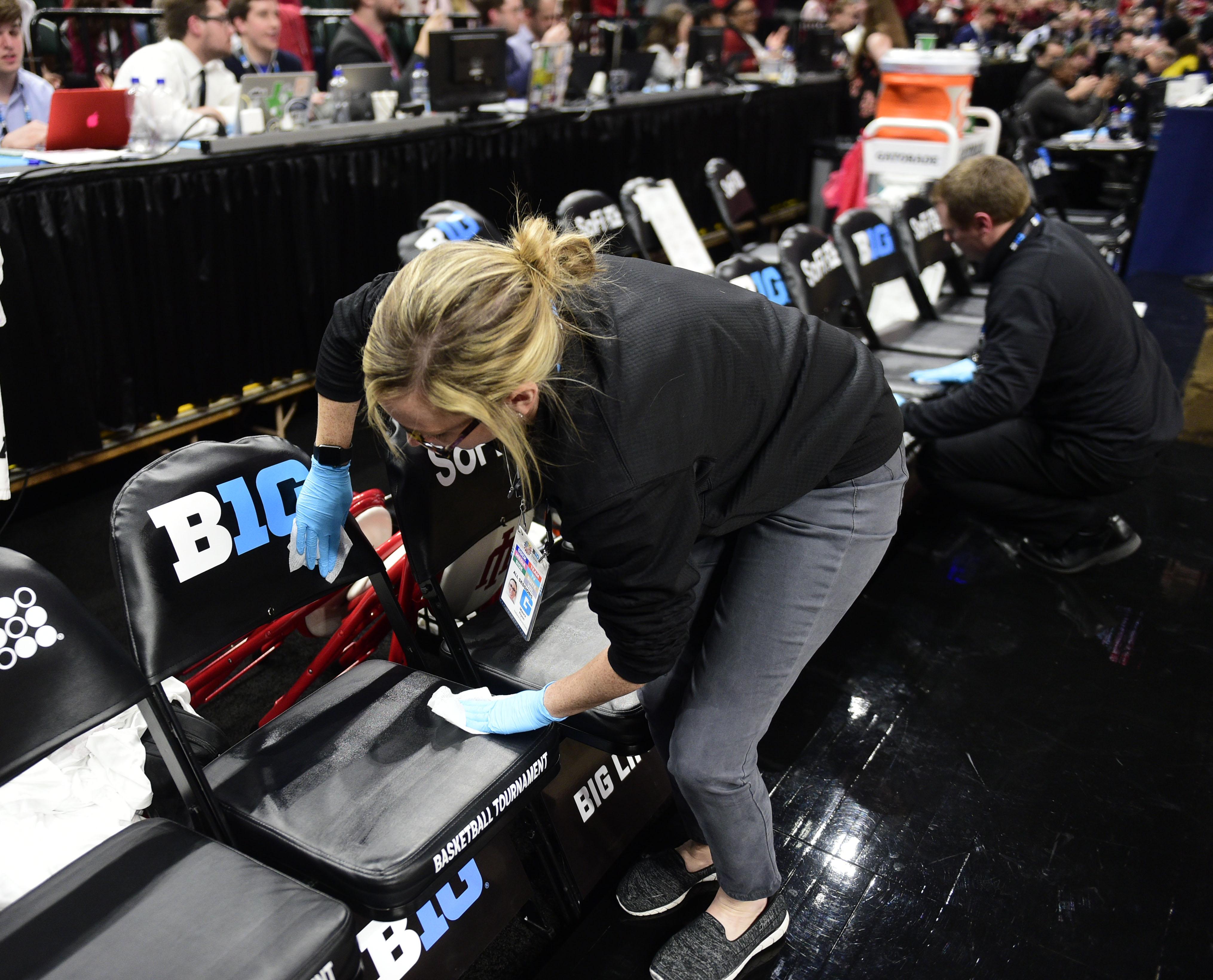 NCAA Basketball: Big Ten Tournament-Nebraska vs Indiana
