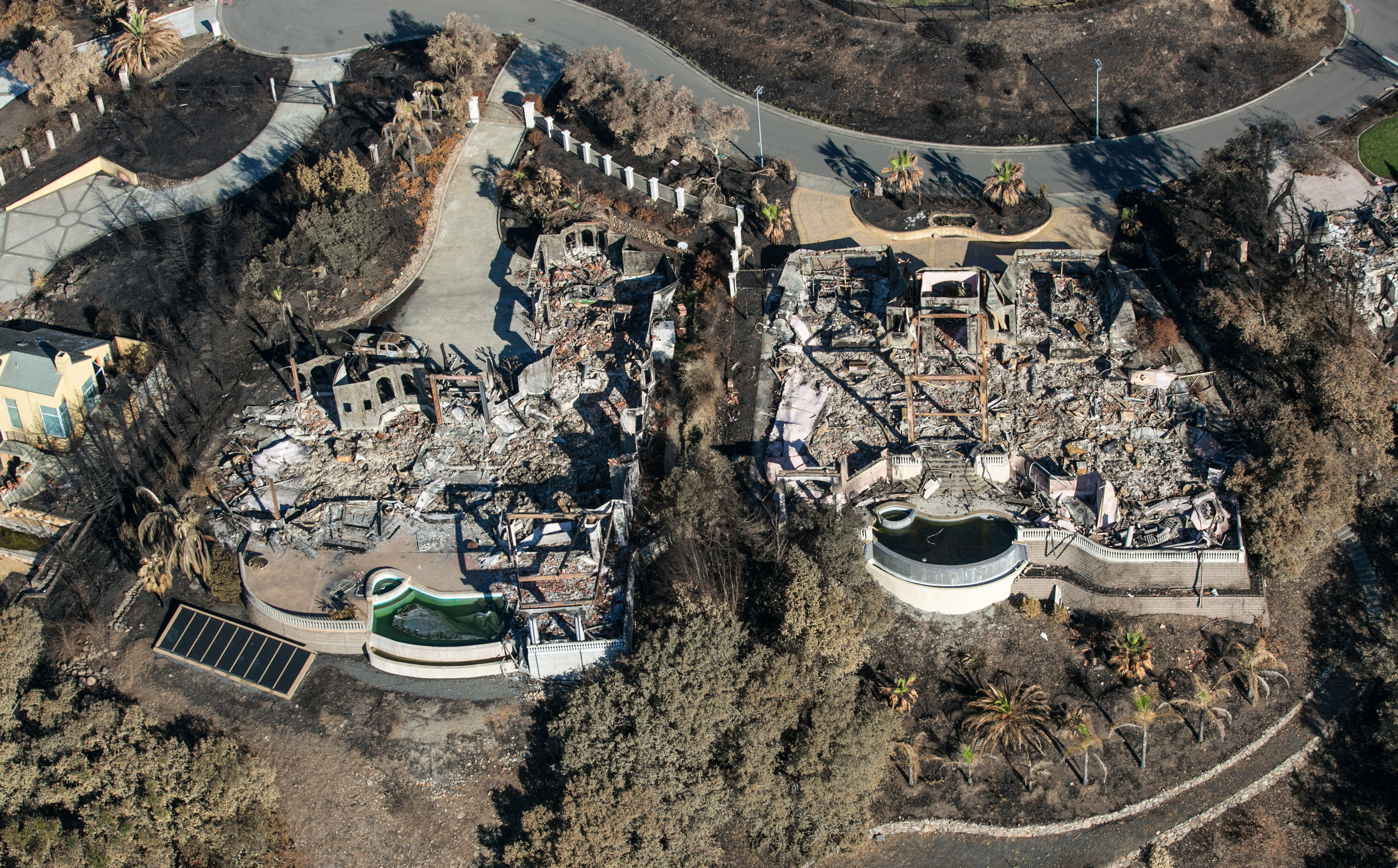 Wine Country Begins Fire Recovery & Rebuilding