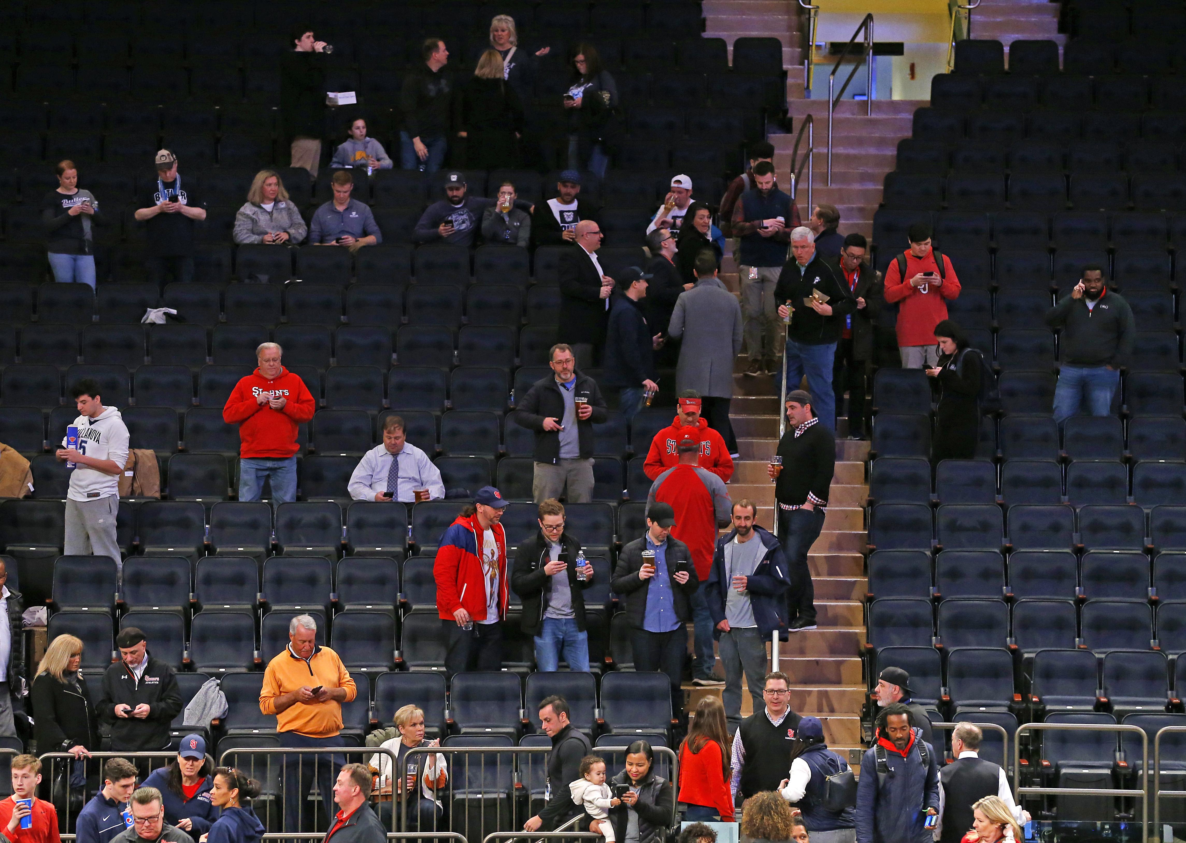 NCAA Basketball: Big East Tournament- St. John's vs Creighton