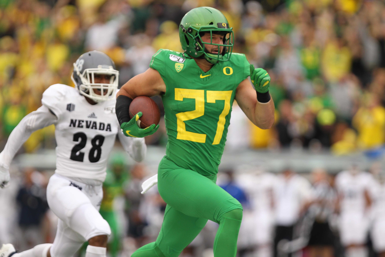 NCAA Football: Nevada at Oregon
