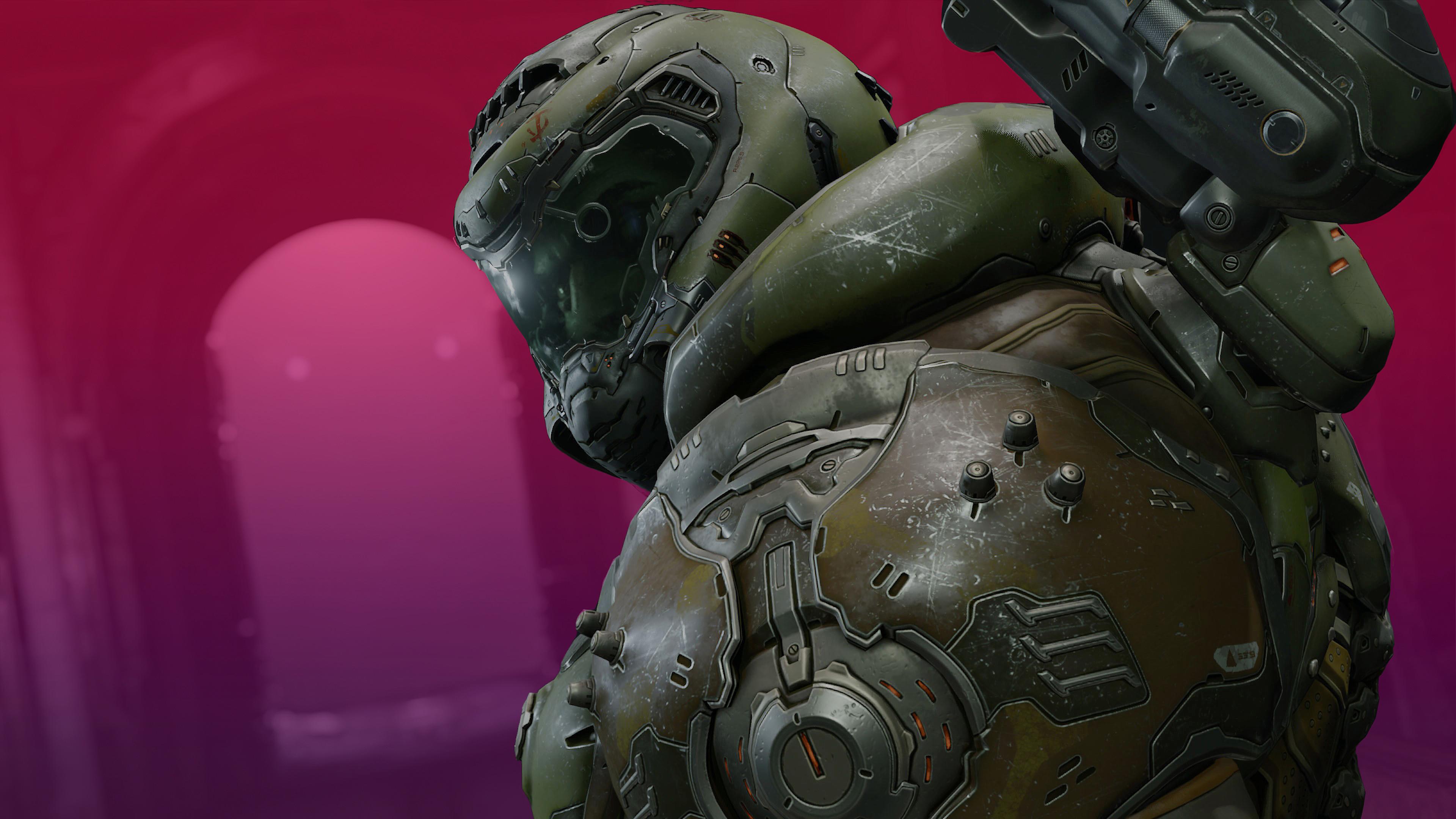 Doom Guy in Doom Eternal