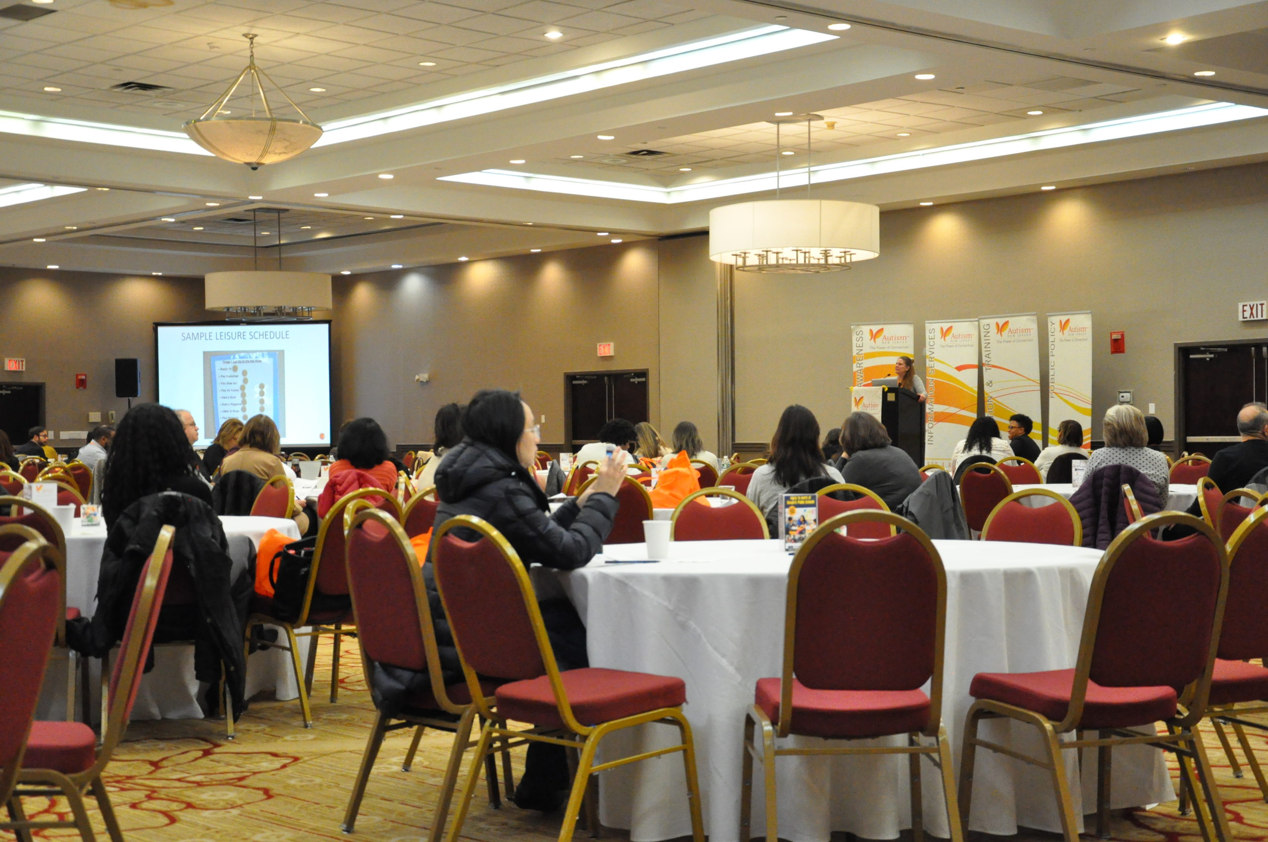 Almost 500 New Jersey parents, advocates, and educators gathered at Autism NJ's conference in Newark to learn about the transition to adulthood for students with autism.