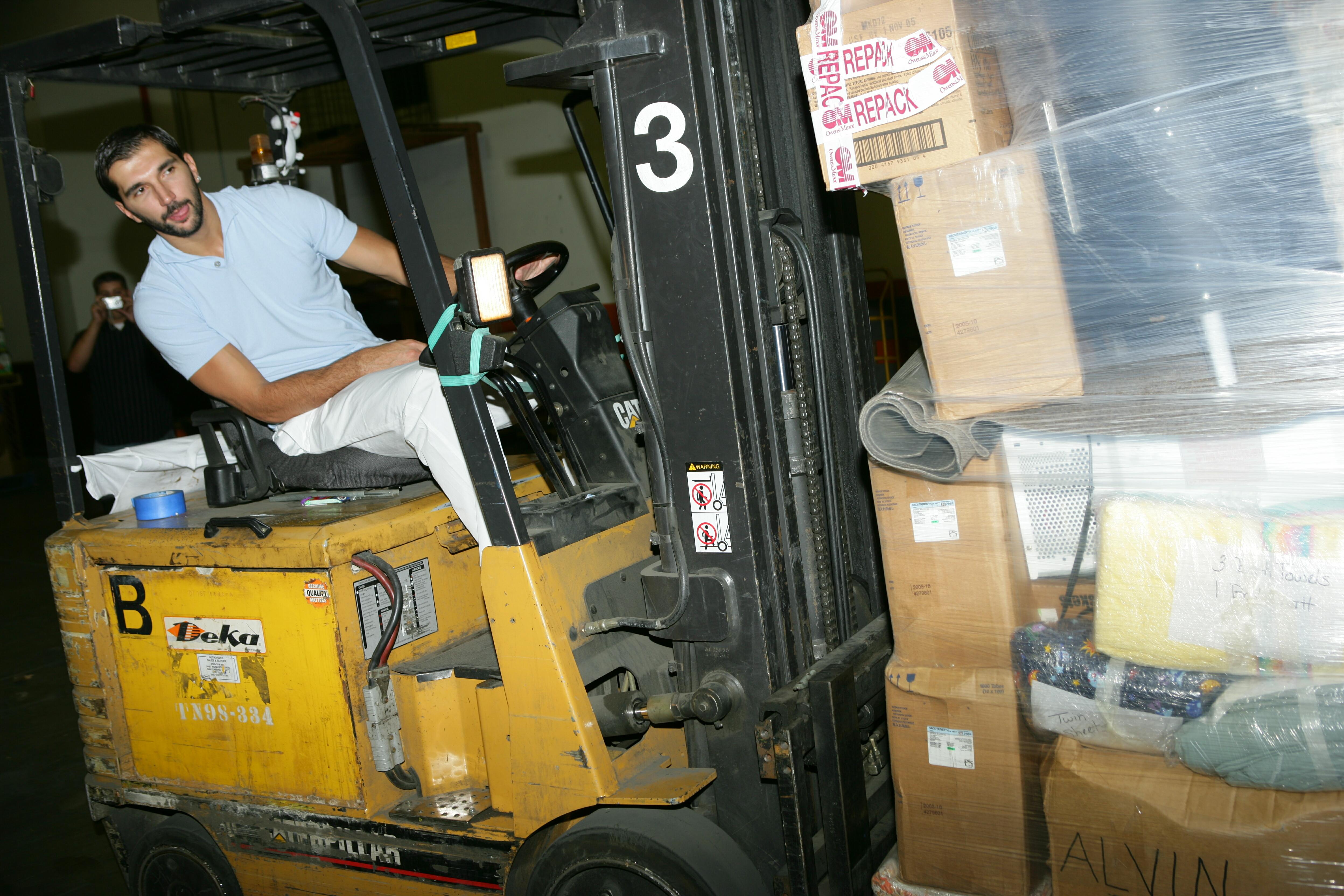 Peja Stojakovic Hurricane Katrina Relief