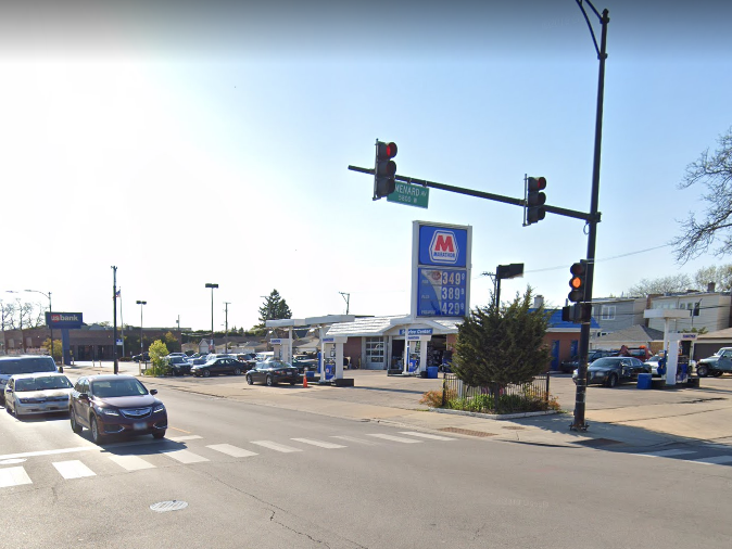 A 48-year-old man was shot March 14, 2020, during a robbery in the 5800 block of West Belmont Avenue in Belmont Central.