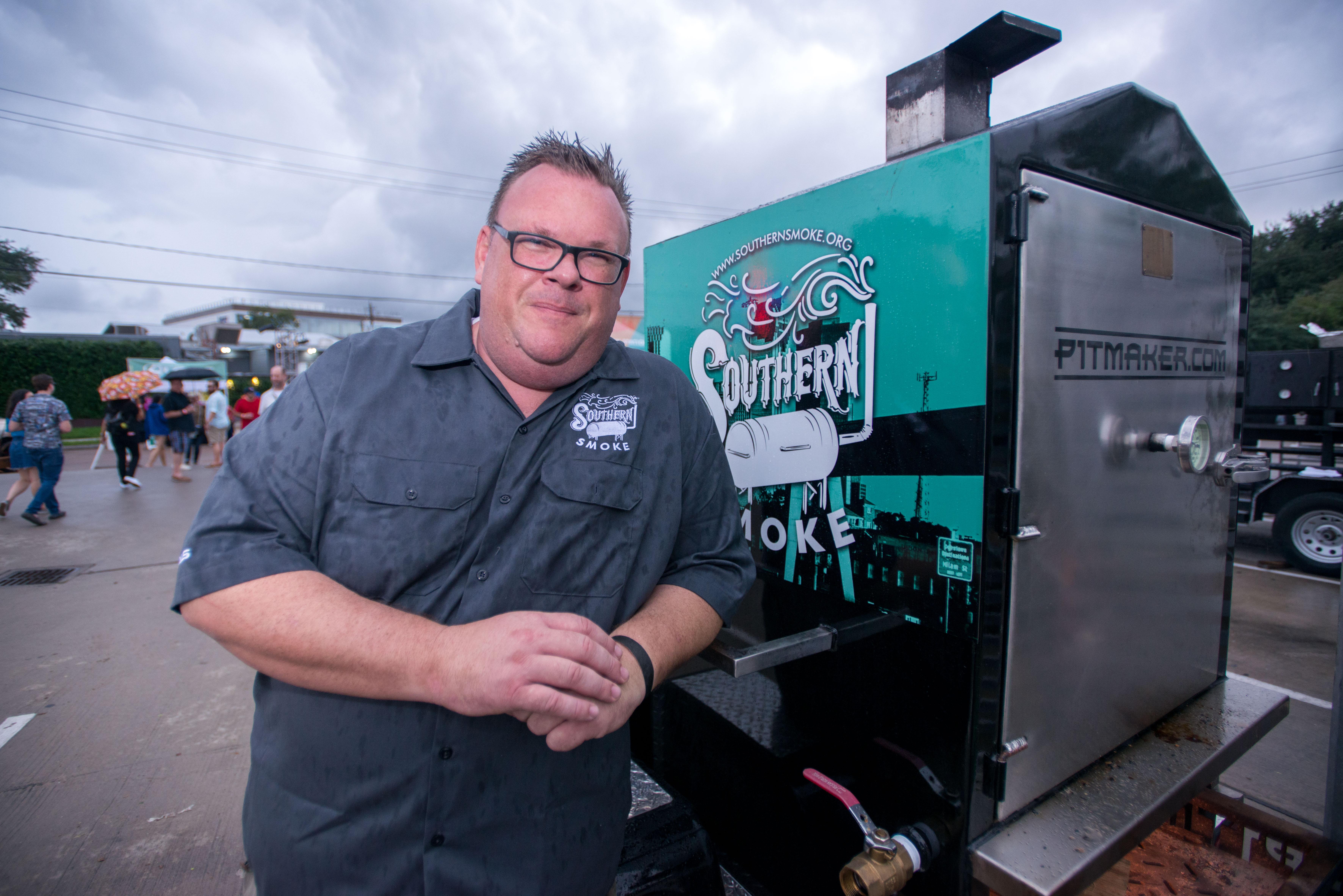 Chef Chris Shepherd founded the Southern Smoke Foundation in 2015
