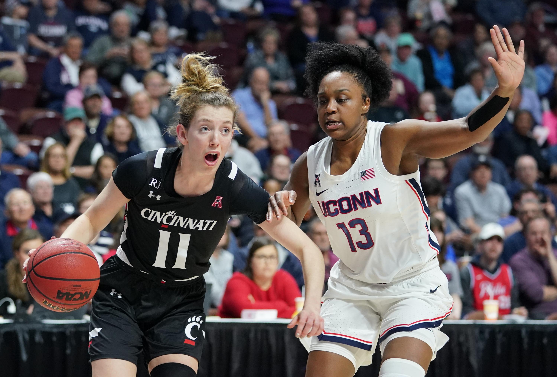 NCAA Womens Basketball: American Conference Tournament-Cincinnati vs UConn