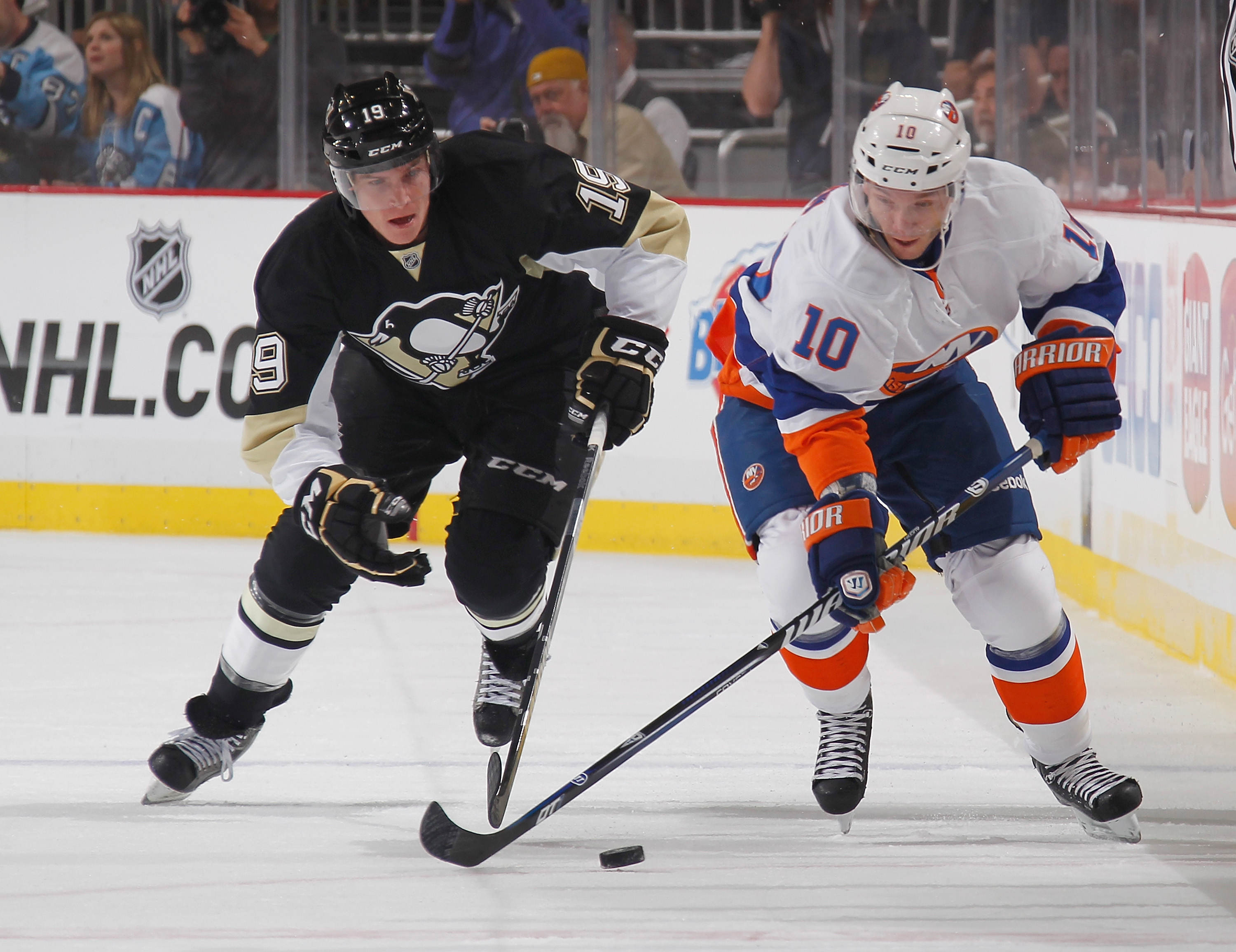 New York Islanders v Pittsburgh Penguins - Game One