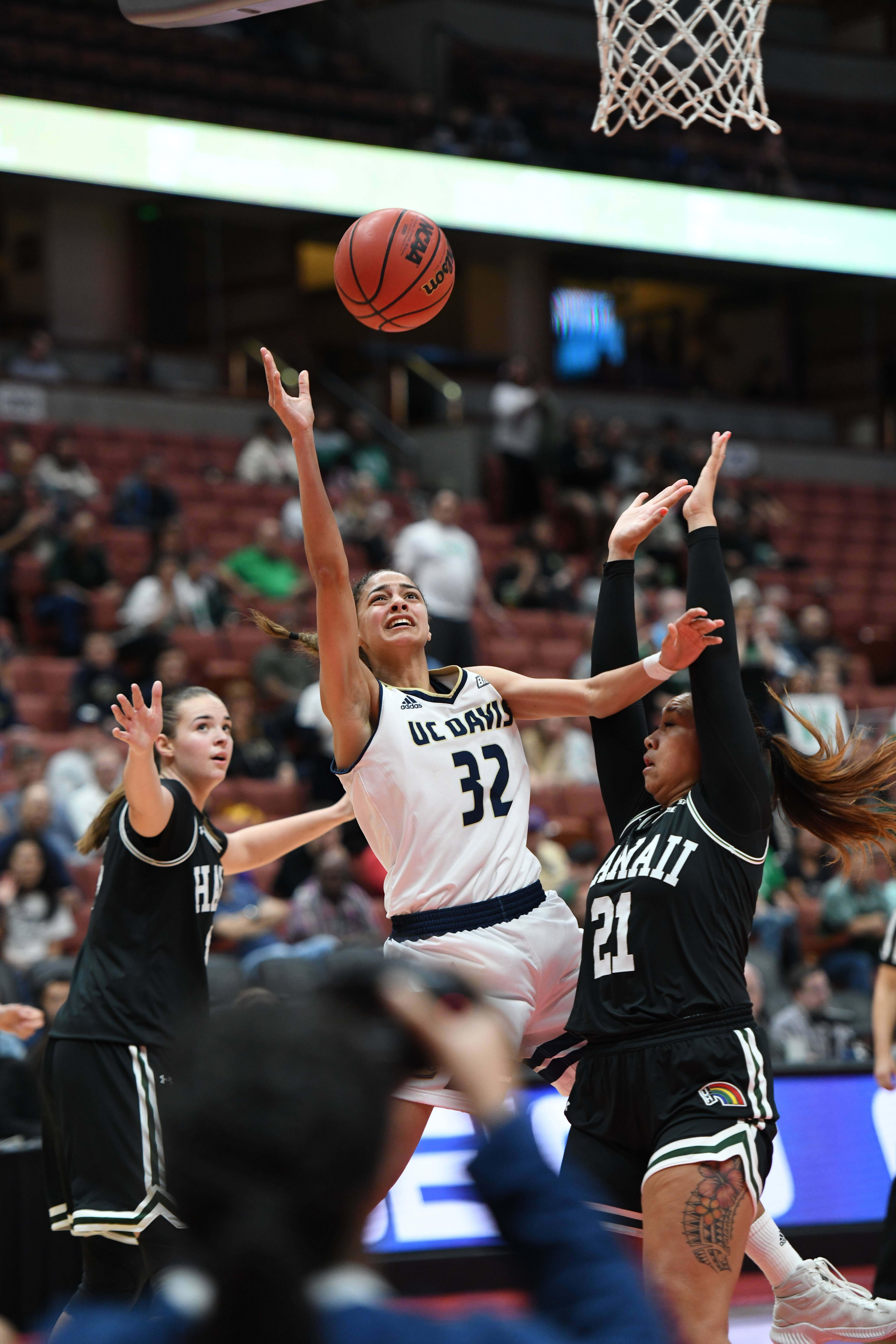 NCAA Womens Basketball: Big West Conference Championship-Final-UC Davis vs Hawaii